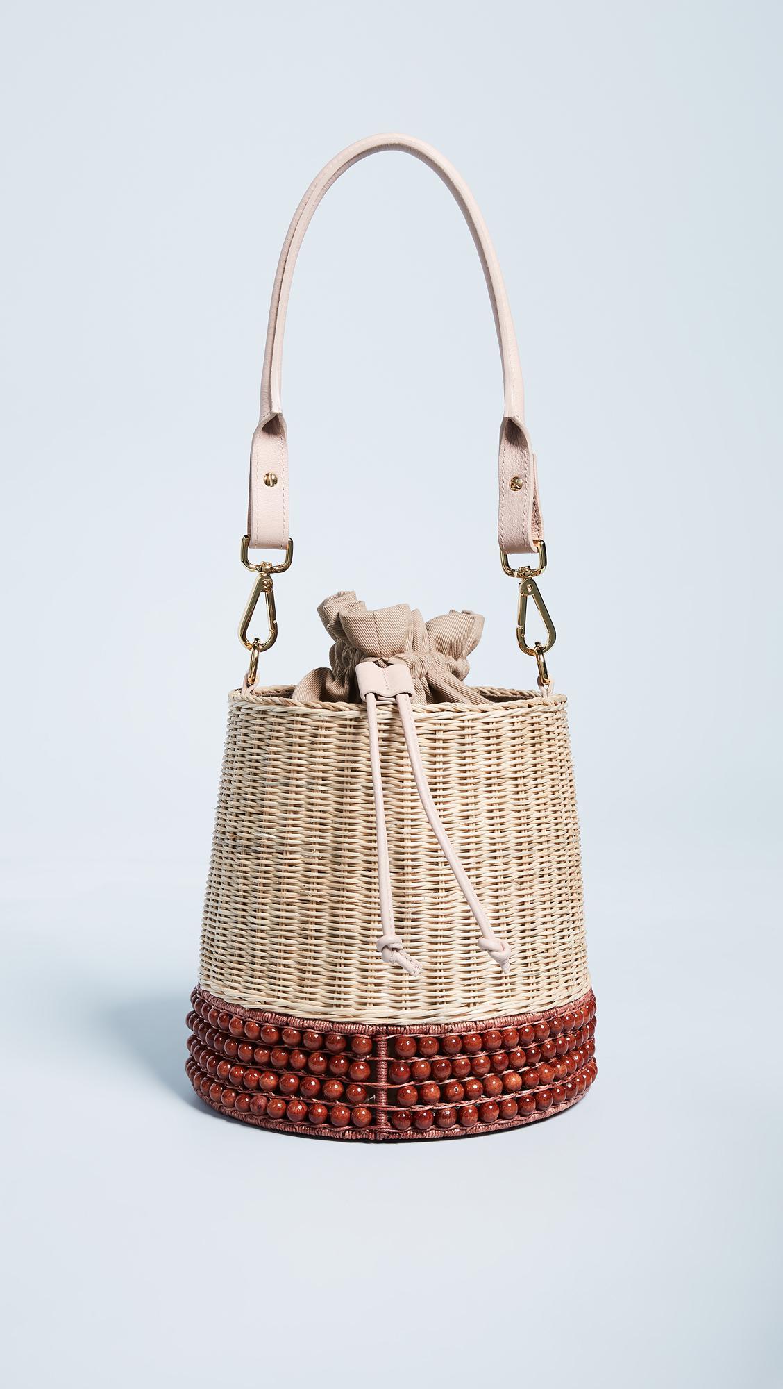 7a25271877fc Lucy Folk Basket Bucket Bag - Lyst