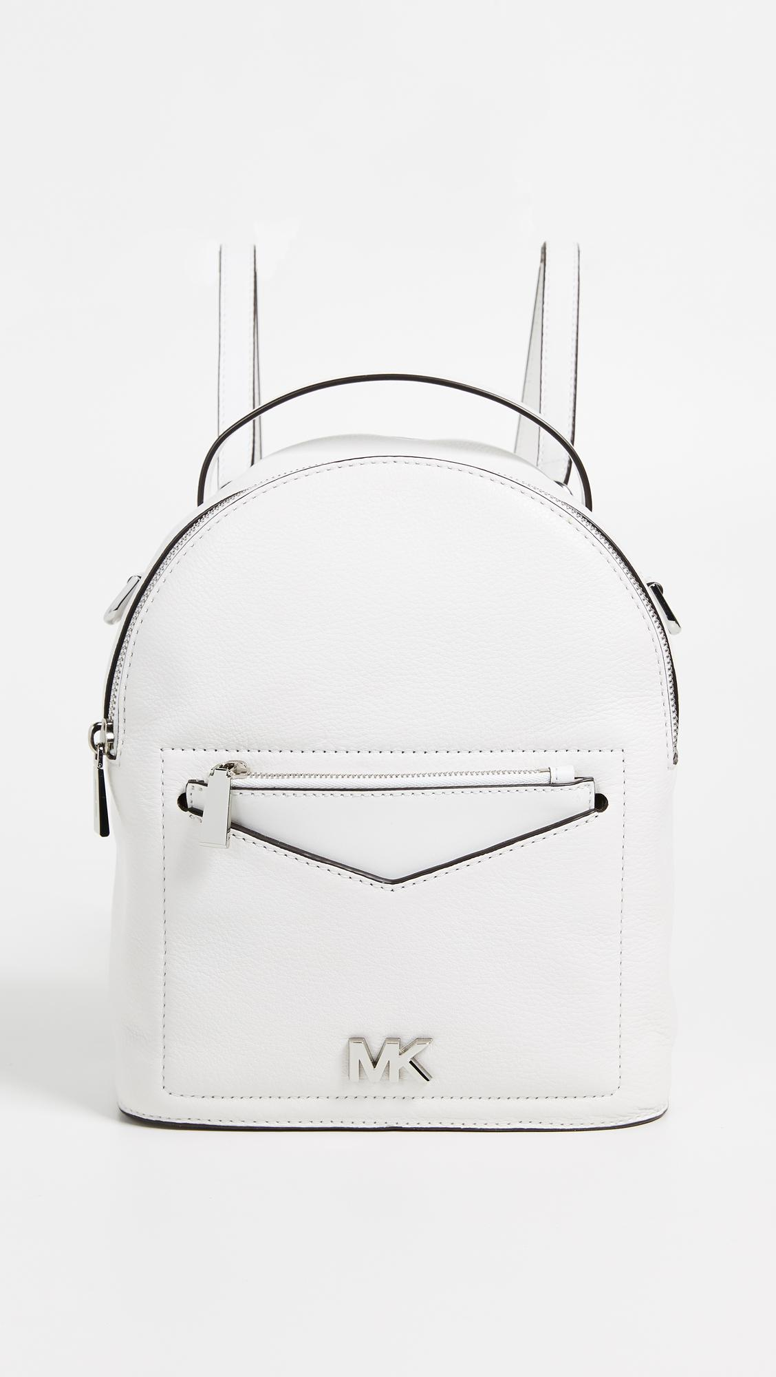 1bf90194732d MICHAEL Michael Kors Jessa Small Convertible Backpack in White - Lyst
