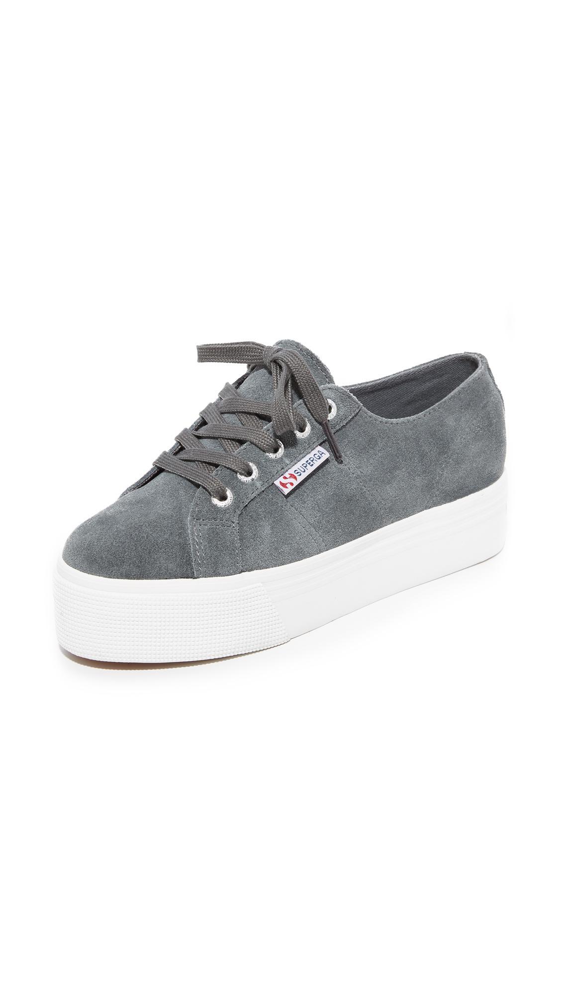 platform sneakers - Grey Superga F8x9JL4HtB
