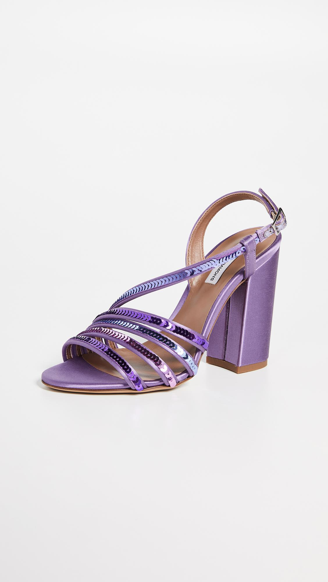 da6439076e7a Lyst - Tabitha Simmons Viola Sandals in Purple