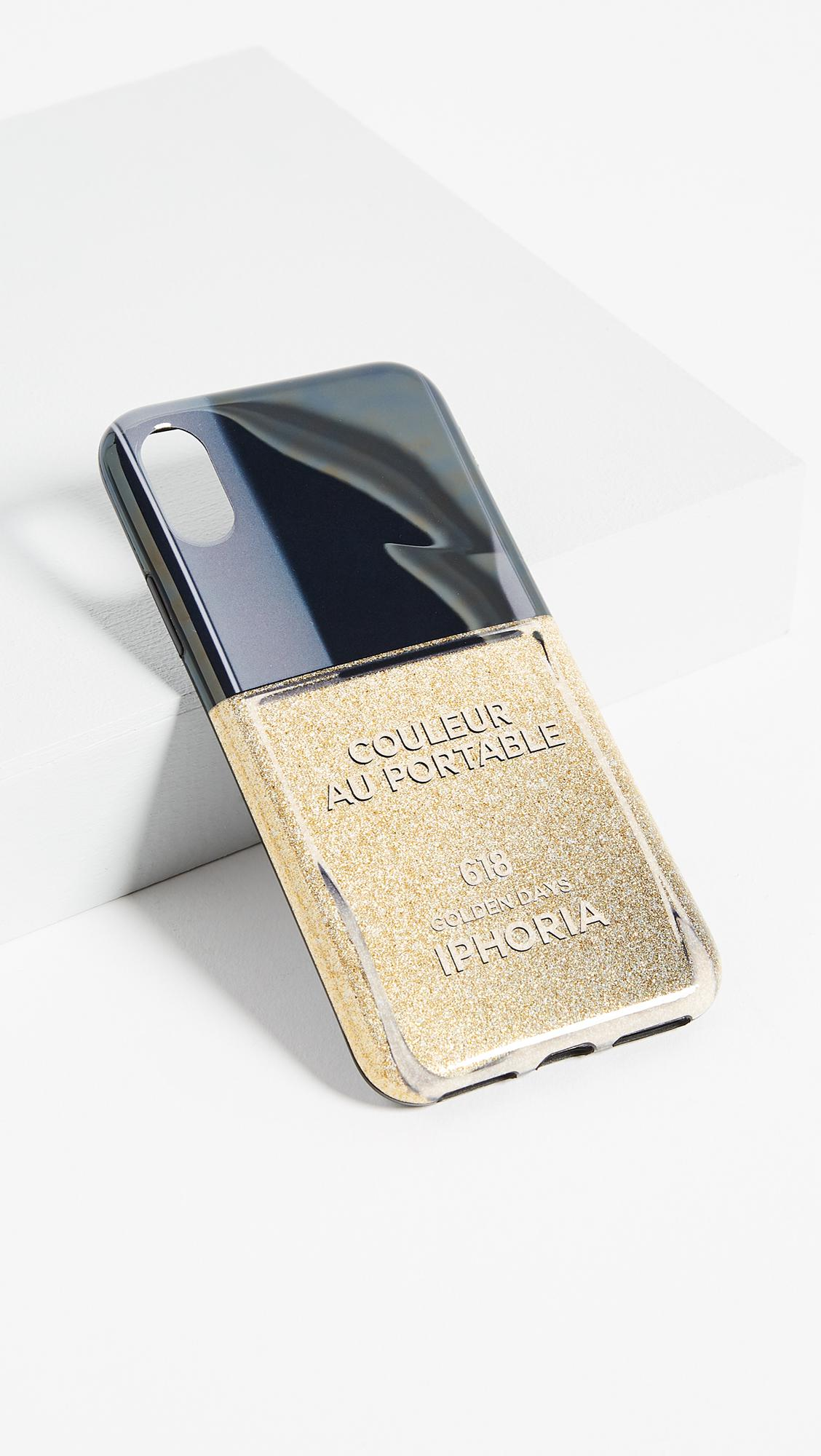 Lyst - Iphoria Nail Polish Golden Day Iphone X Case