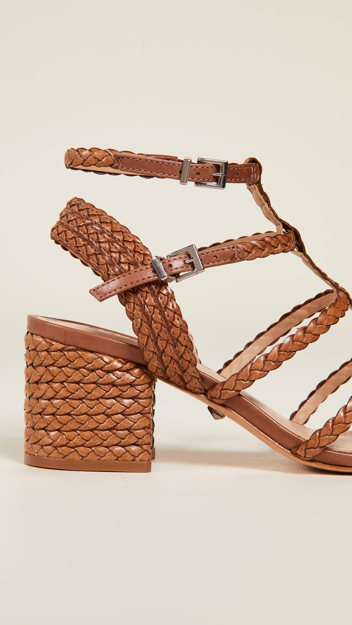 7028a515c9 Schutz Rosalia Strappy Sandals - Lyst