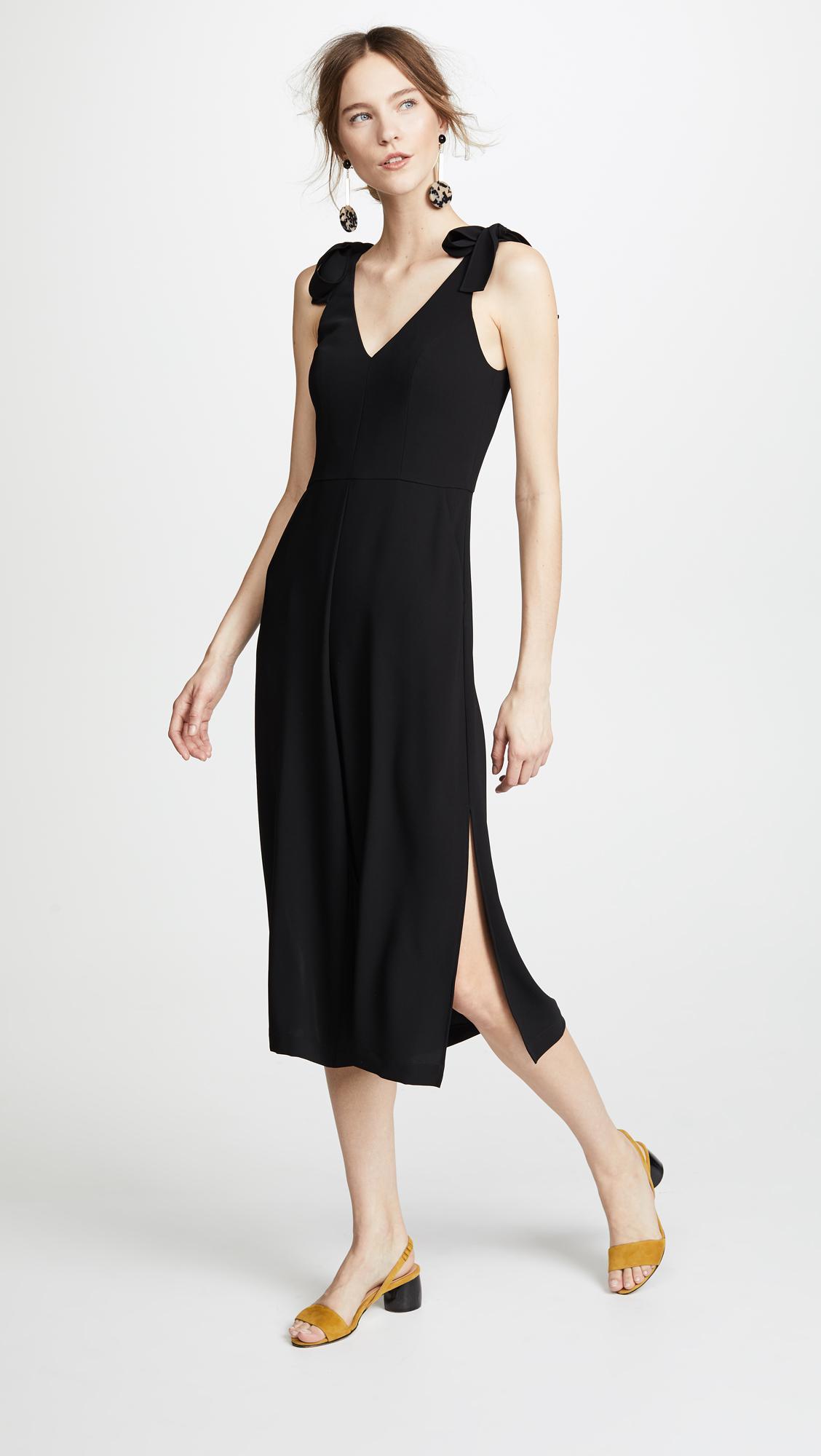 4b688af15f71 Lyst - Amanda Uprichard Iris Jumpsuit in Black