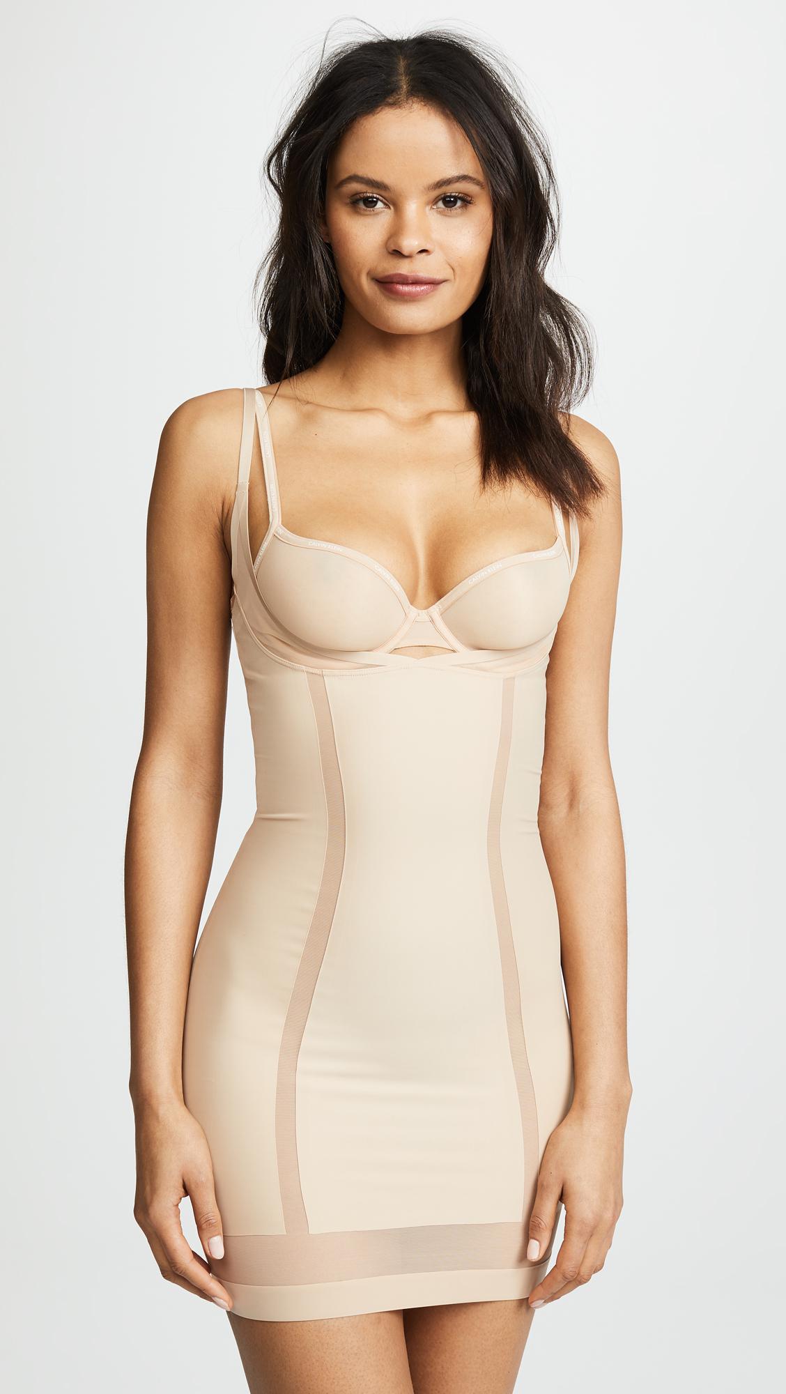 Full Slip - Sculpted Calvin Klein Cheap Sale Great Deals Cheap For Nice Sale Best Place Shop Sale Online QYJkvDF8w