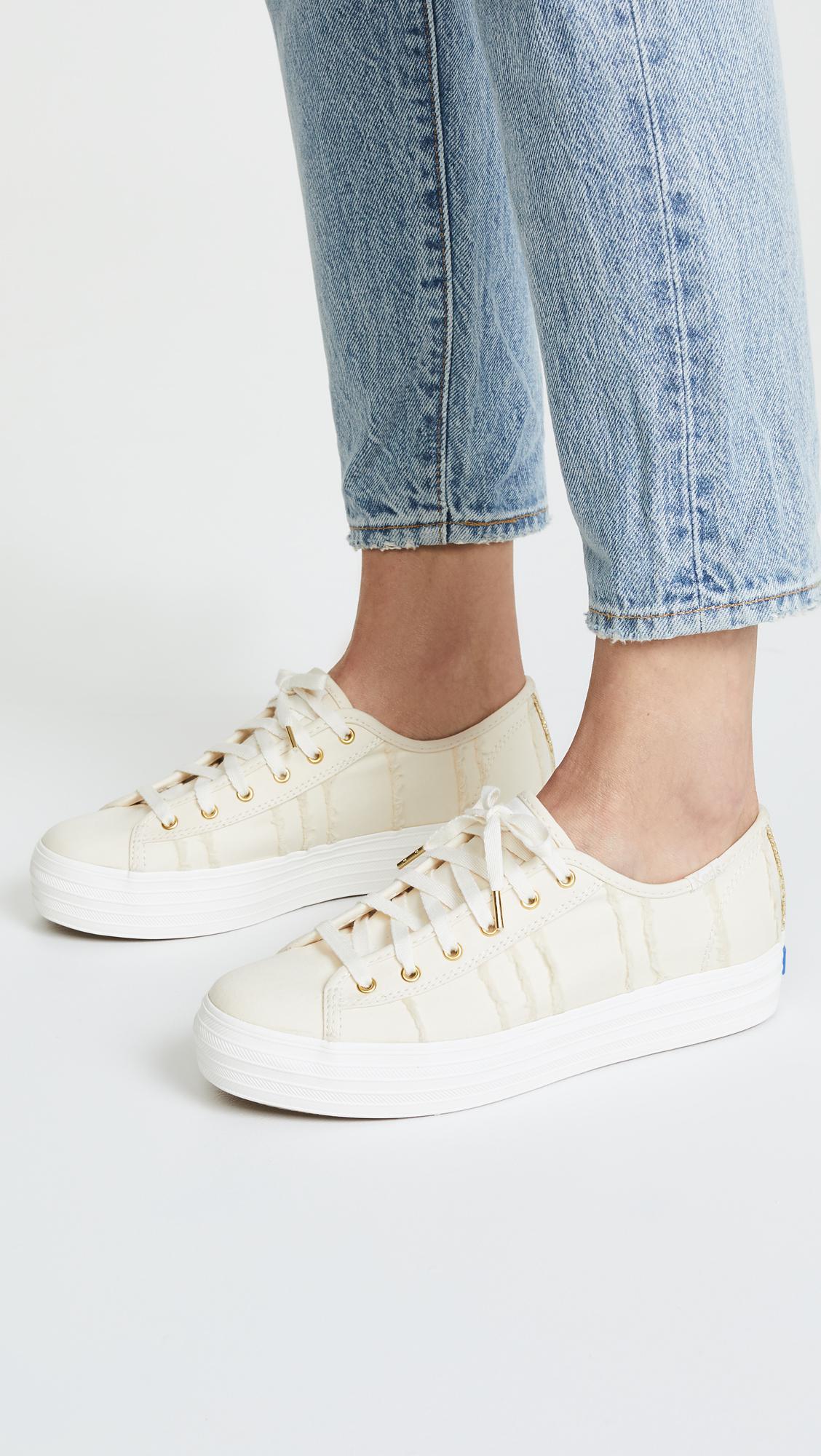 09920d83badb Keds Triple Kick Eyelash Lace Up Sneakers - Lyst