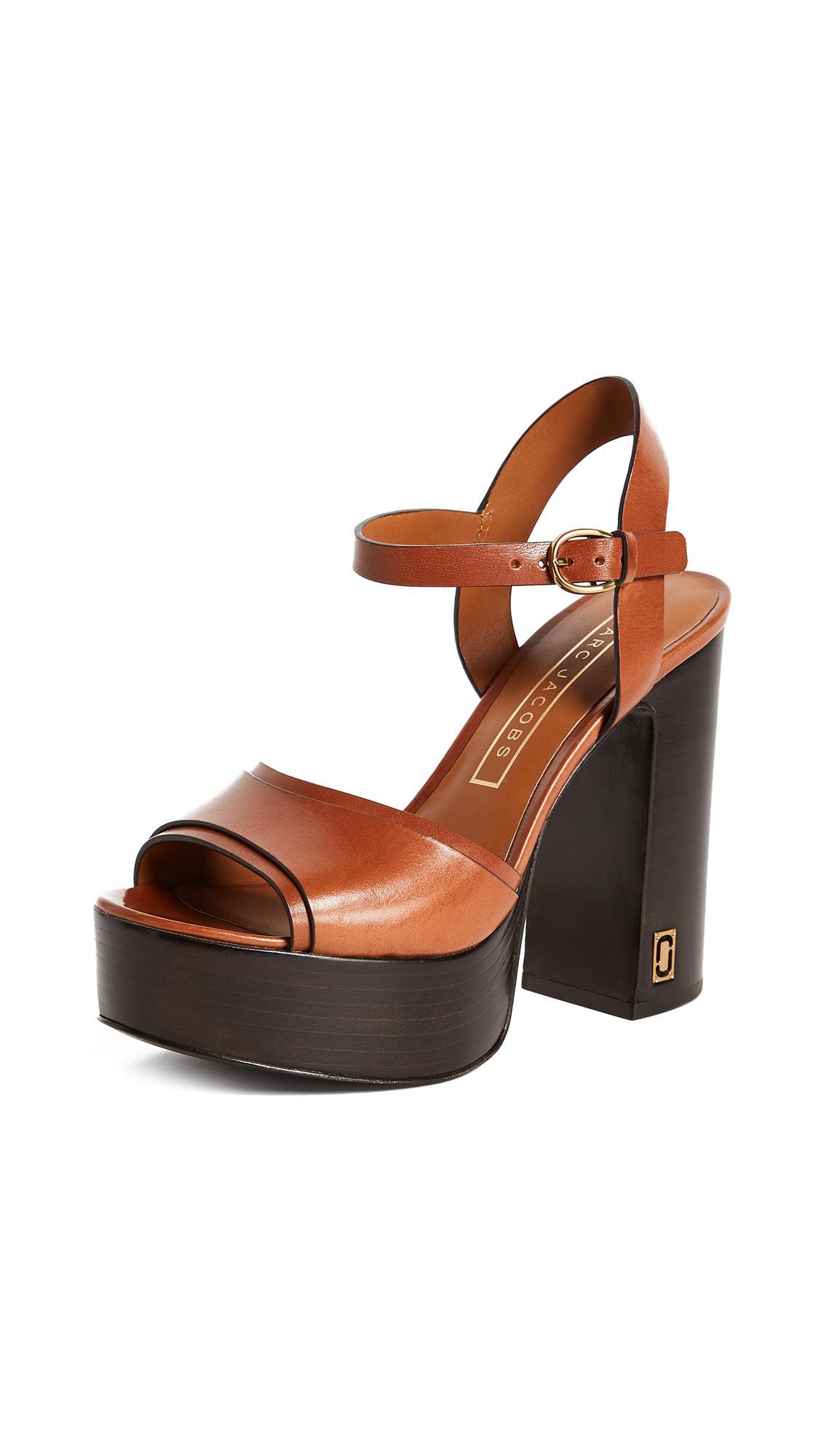 9b4f1b9453b6 Marc Jacobs Lust Status Platform Sandals - Lyst