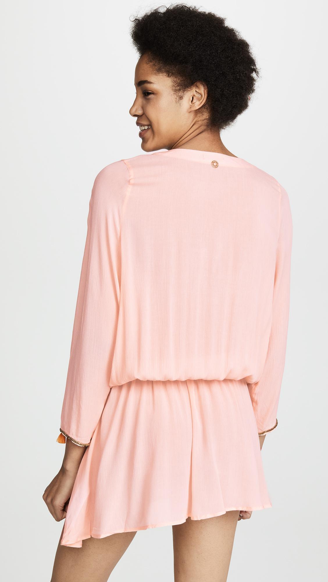 faac971cf7bf OndadeMar - Pink Cover Up Dress - Lyst. View fullscreen