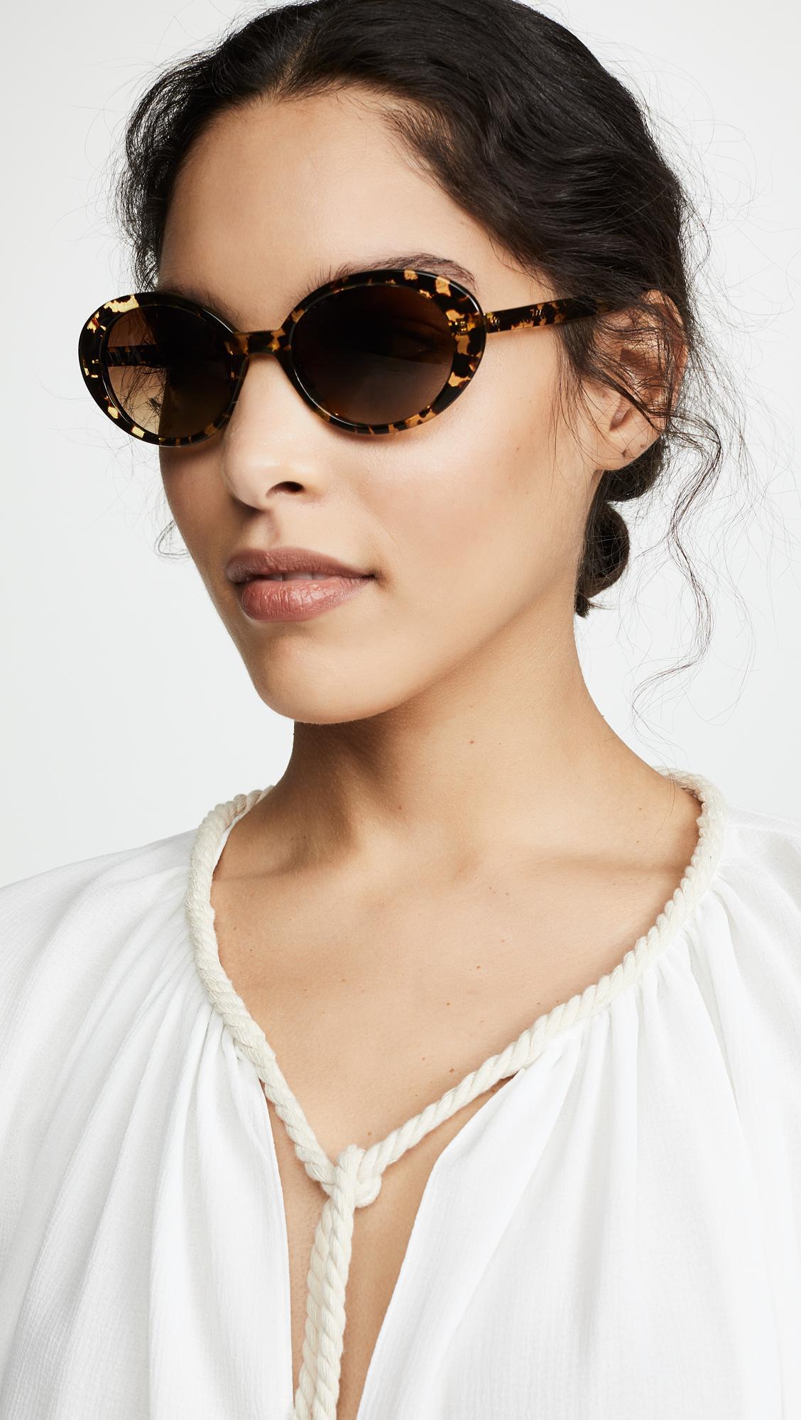 00d6fdbec11 Krewe - Multicolor Laurel Sunglasses - Lyst. View fullscreen