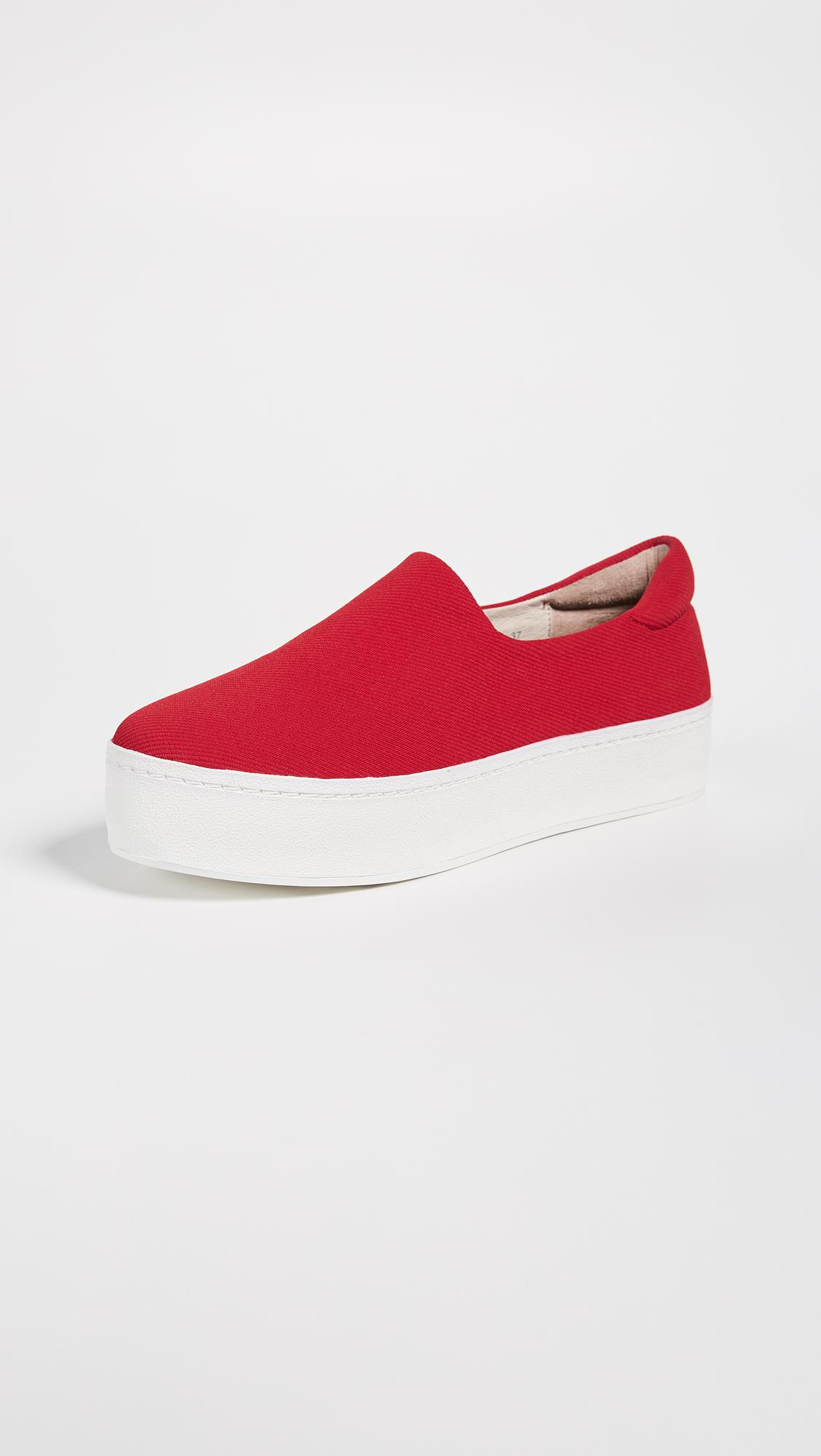 8c165e5afe56 Lyst - Opening Ceremony Cici Slip On Platform Sneakers in Red - Save 30%