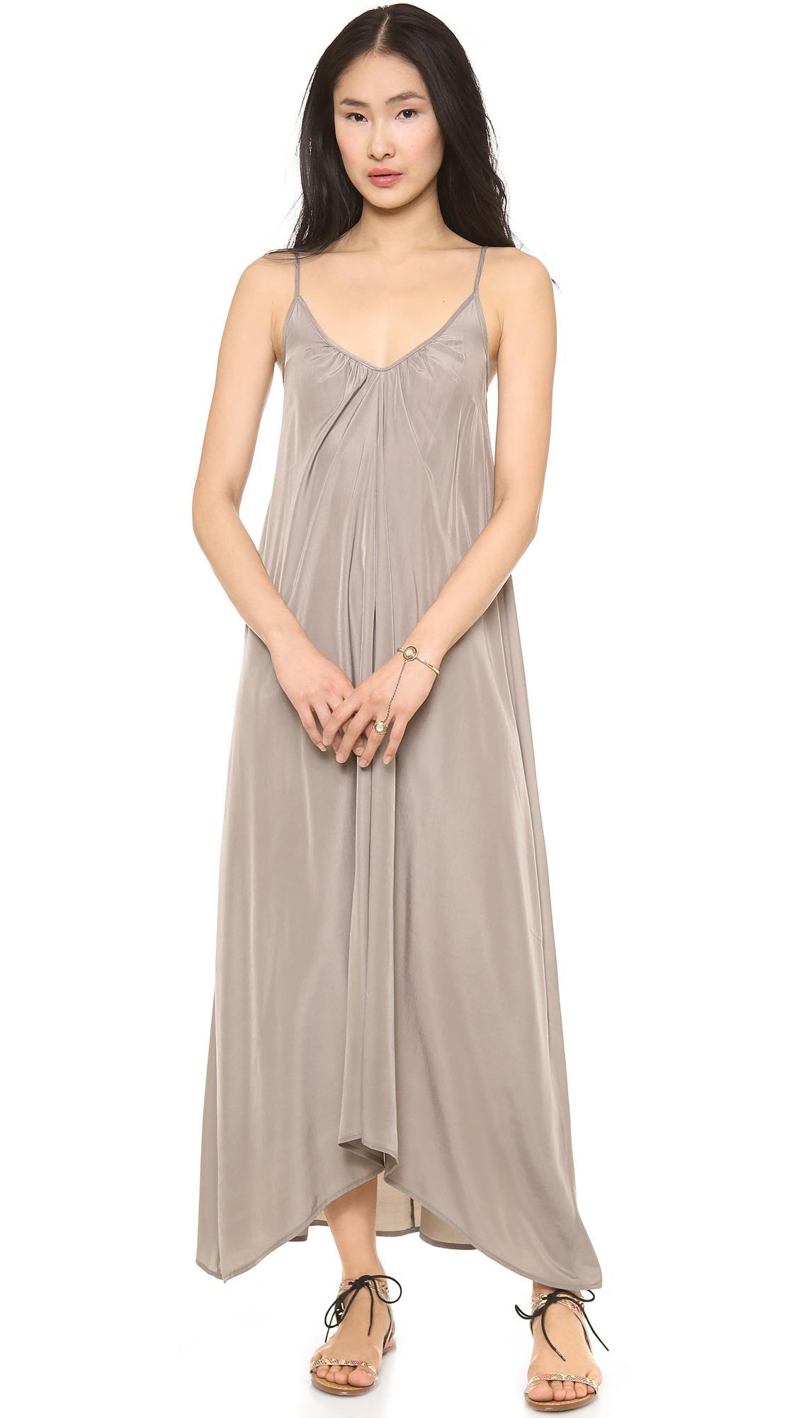 ff30cb4e7a9e74 Lyst - Pink Stitch Resort Maxi Dress in Natural