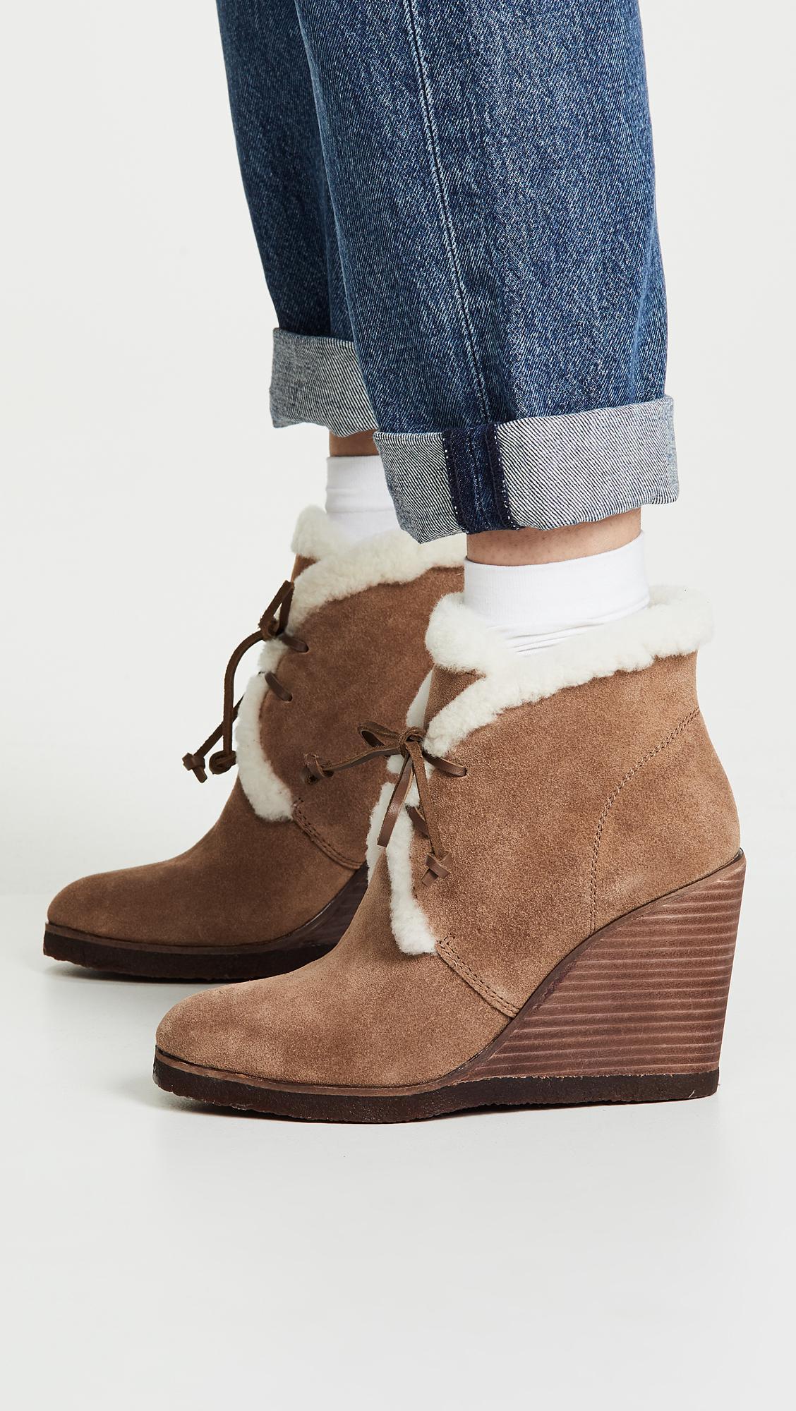 4ac9709cd429 Splendid - Brown Catalina Ankle Boot - Lyst. View fullscreen