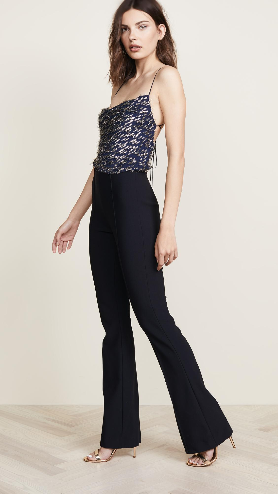 c2944326cff Lyst - Haney Mia Jumpsuit in Blue