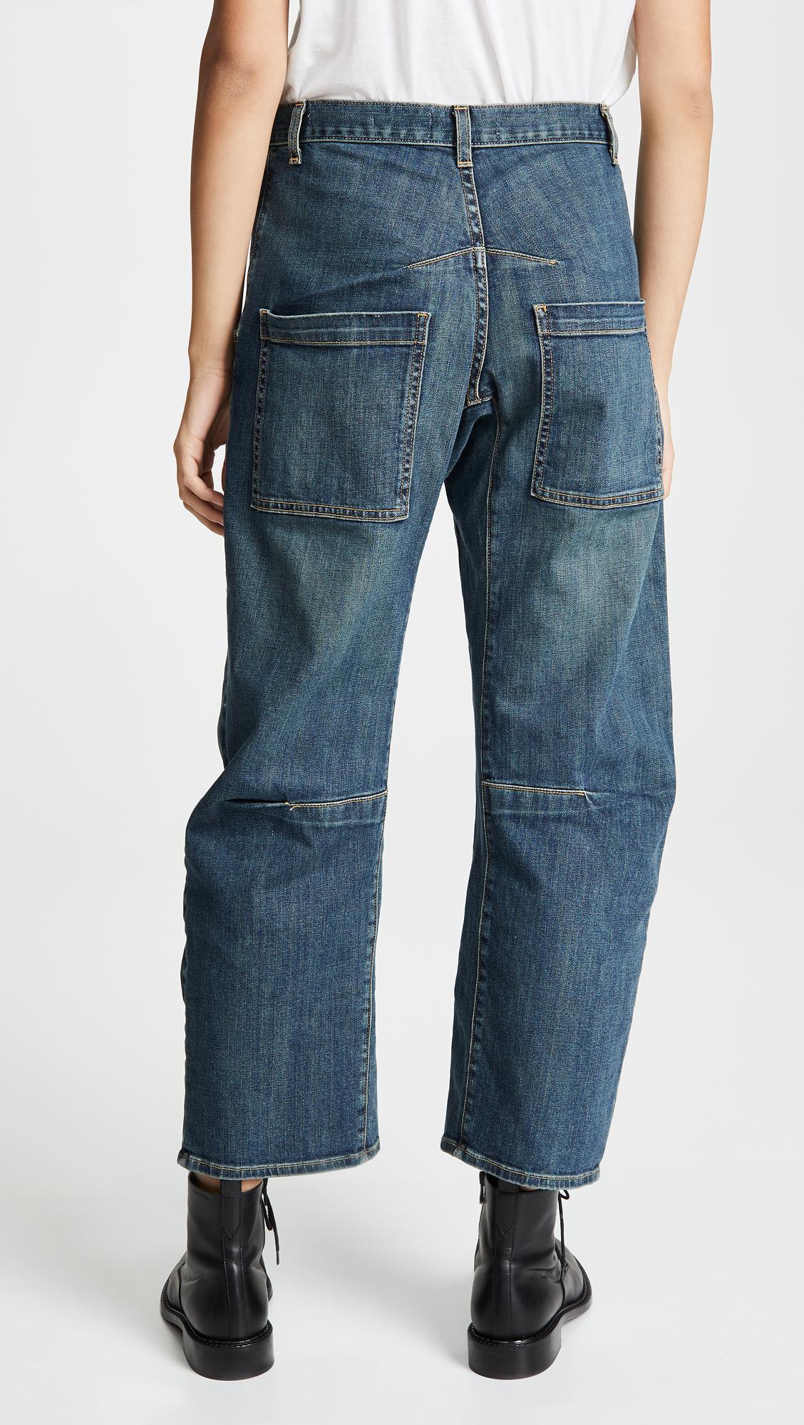 Lyst Blue Lotan Nili Emerson Jeans In cq3LSA54Rj