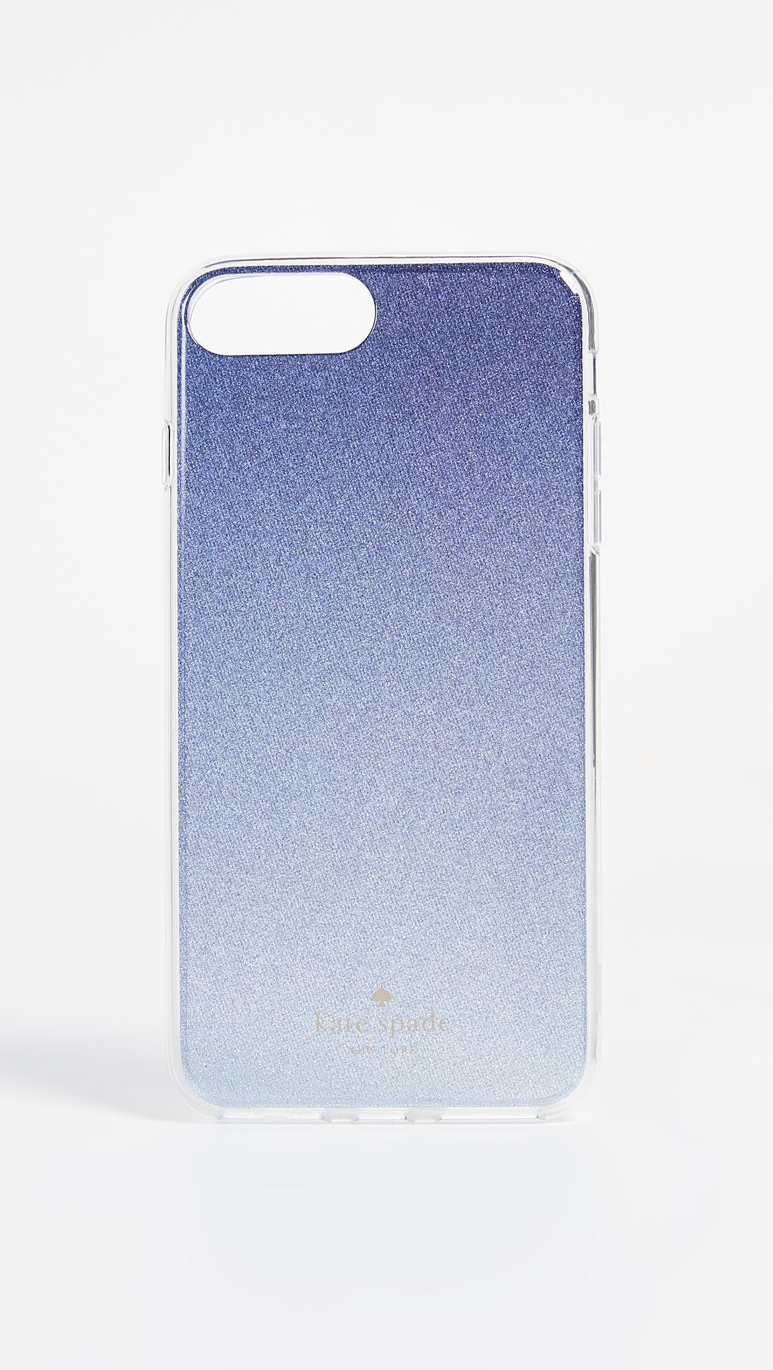 Lyst - Kate Spade Glitter Ombre Iphone 7 Plus   8 Plus Case in Blue 516fd6992e