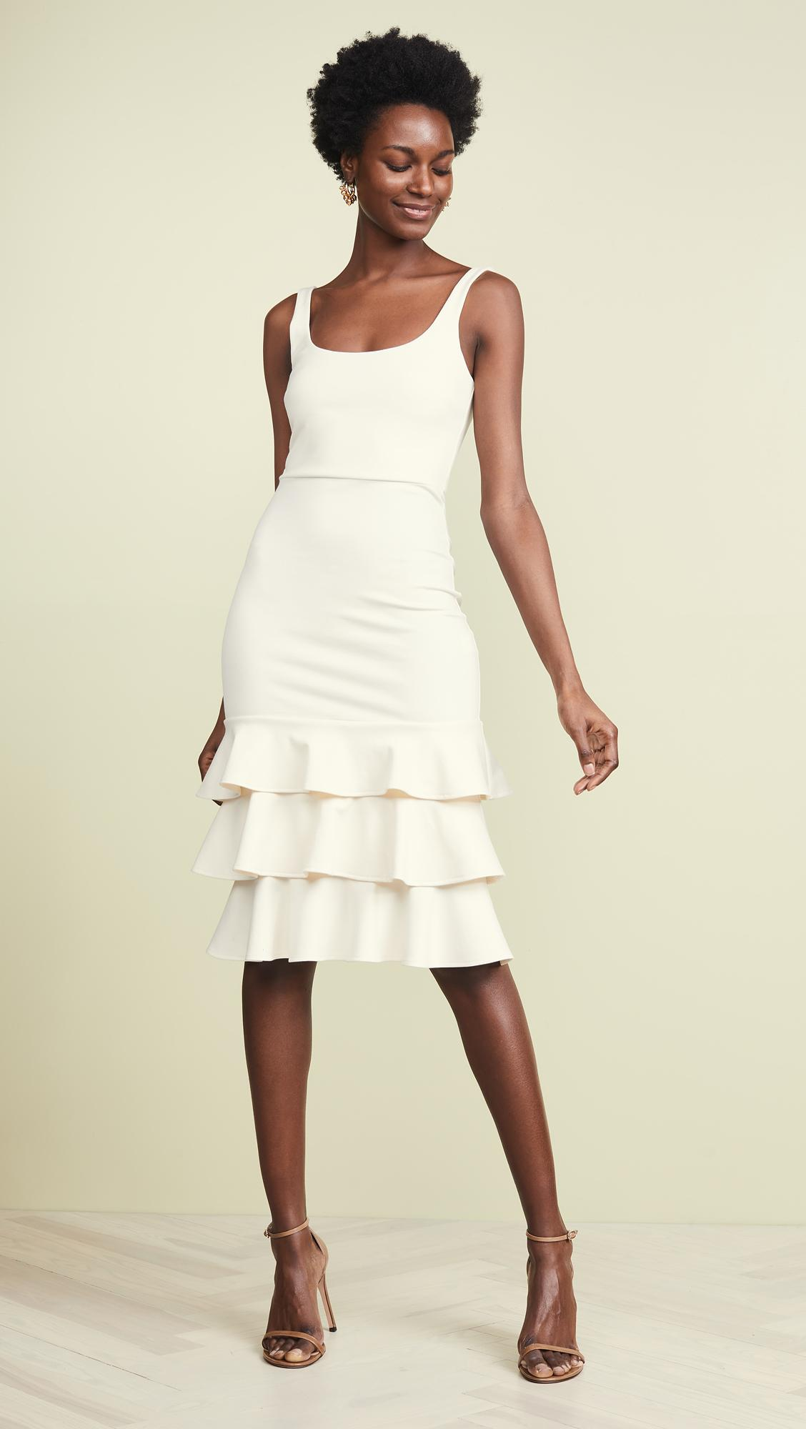 6ea96aa0ff23 Amanda Uprichard Eloise Dress in White - Lyst