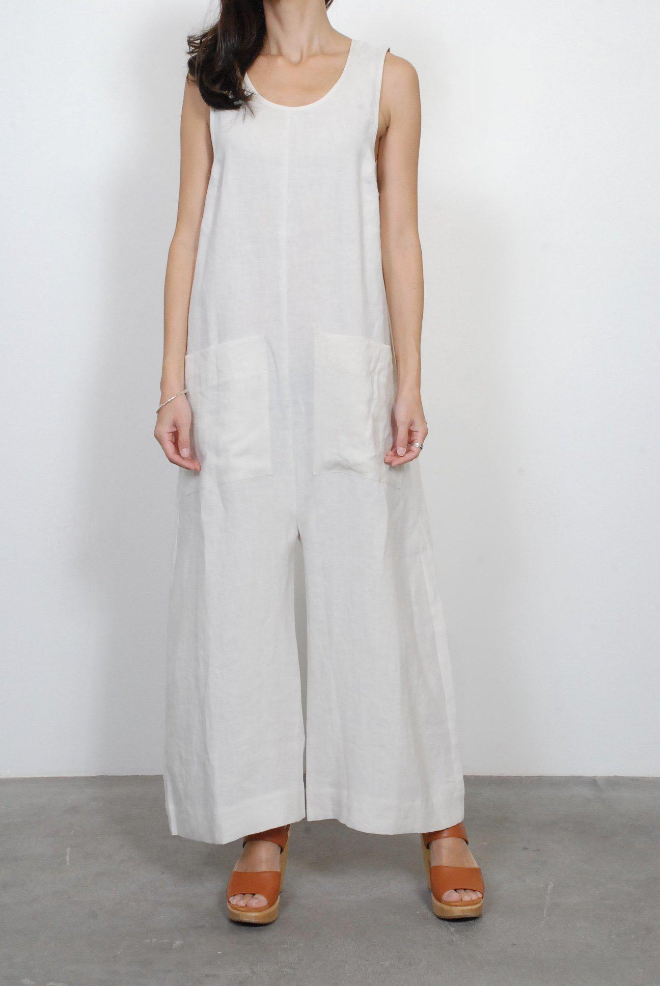 Lyst Ilana Kohn Milo Jumpsuit In White