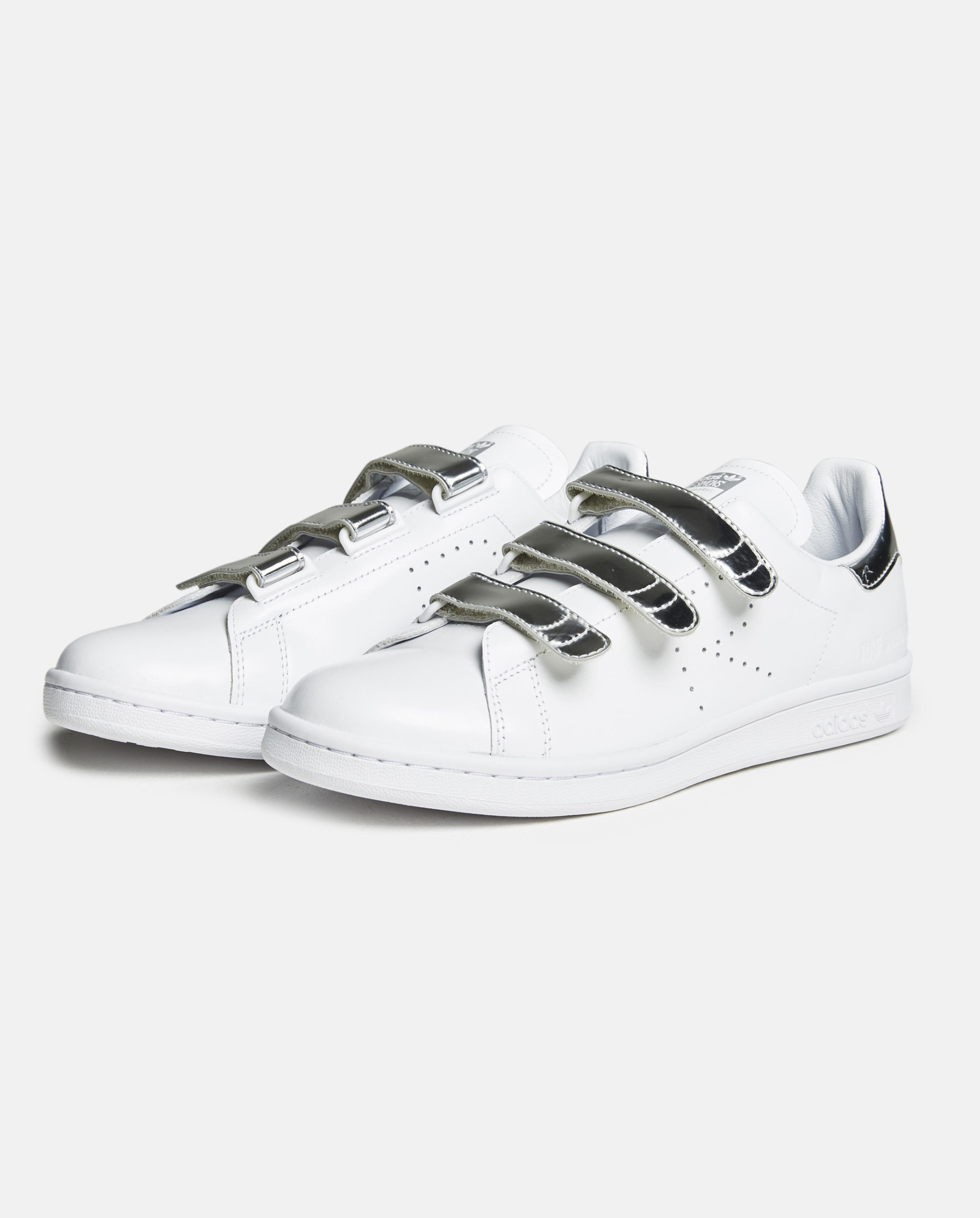 3f8a71794898 Lyst - adidas By Raf Simons Raf X Stan Smith Cf Leather Trainers in ...