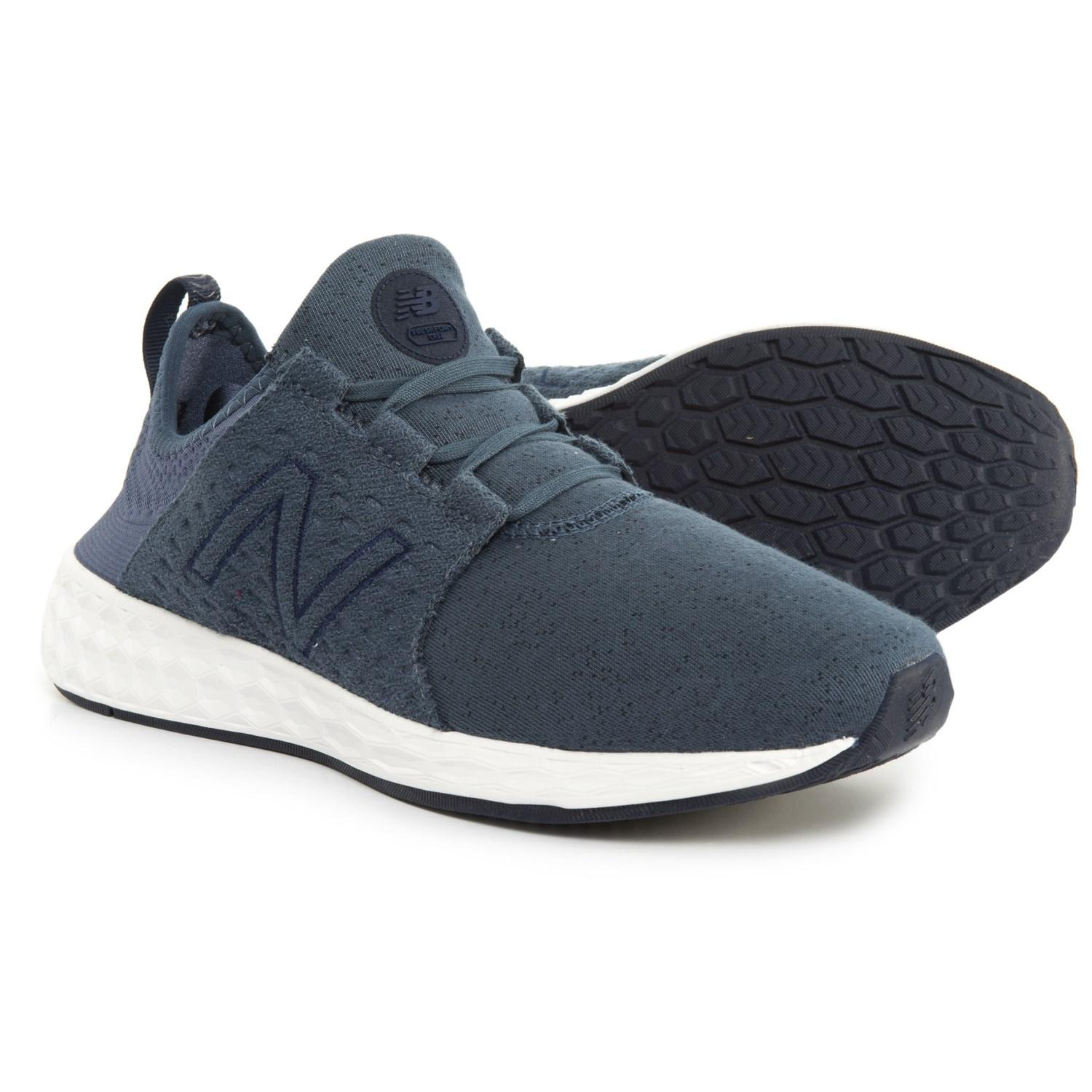 reputable site a6715 94763 New Balance - Blue Fresh Foam(r) Cruz Retro Hoodie Cross-training Shoes.  View fullscreen