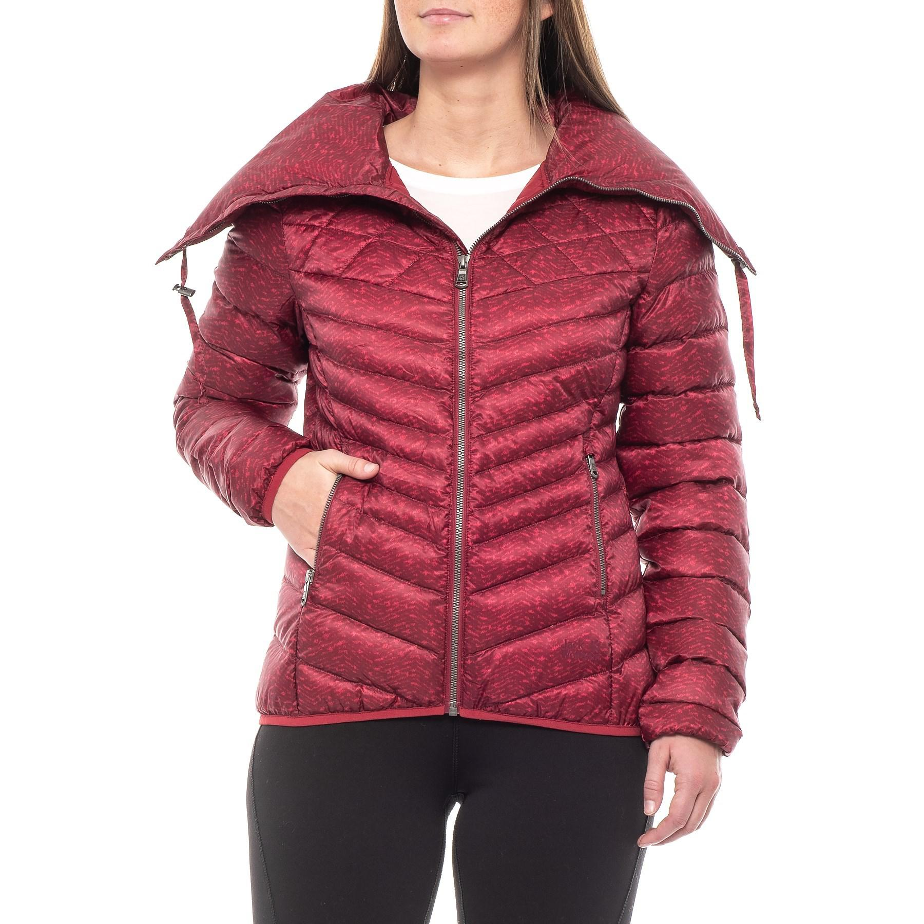 9bfbcd61dc Jack Wolfskin Richmond Hill Down Jacket in Red - Lyst