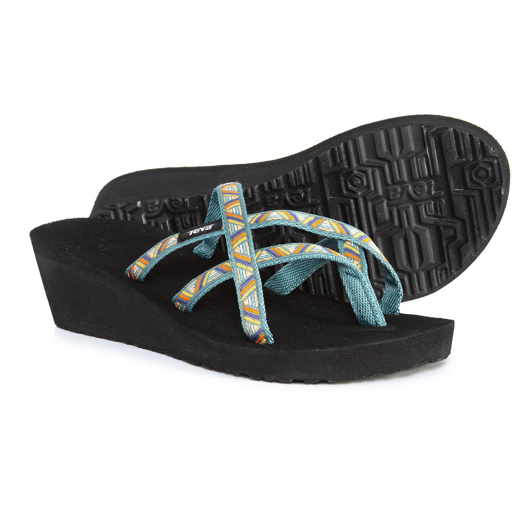f491ed695 Lyst - Teva Mush® Mandalyn Wedge Ola 2 Sandals (for Women) in Black