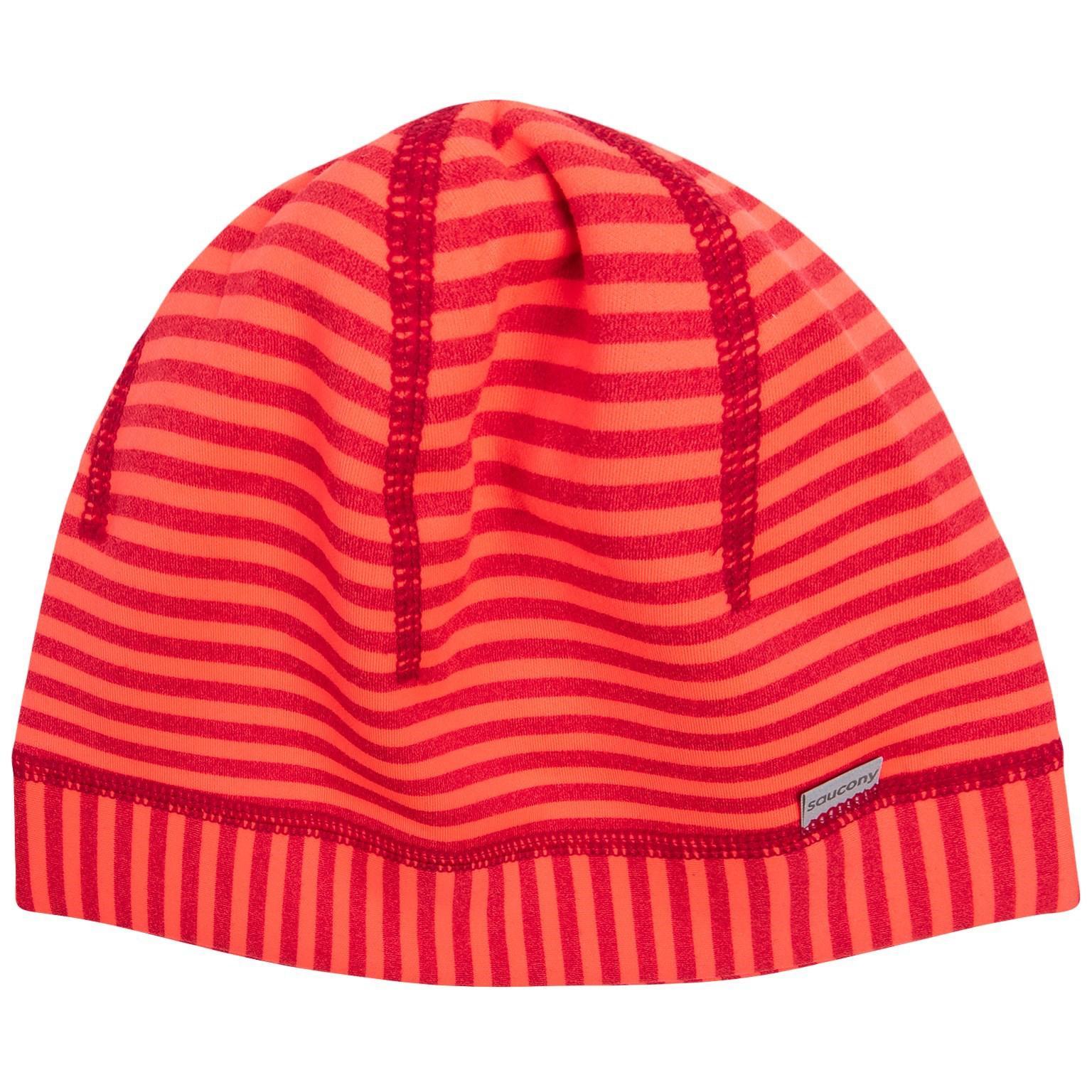 9acb78cba12 Lyst - Saucony Brisk Skull Cap Hat in Red