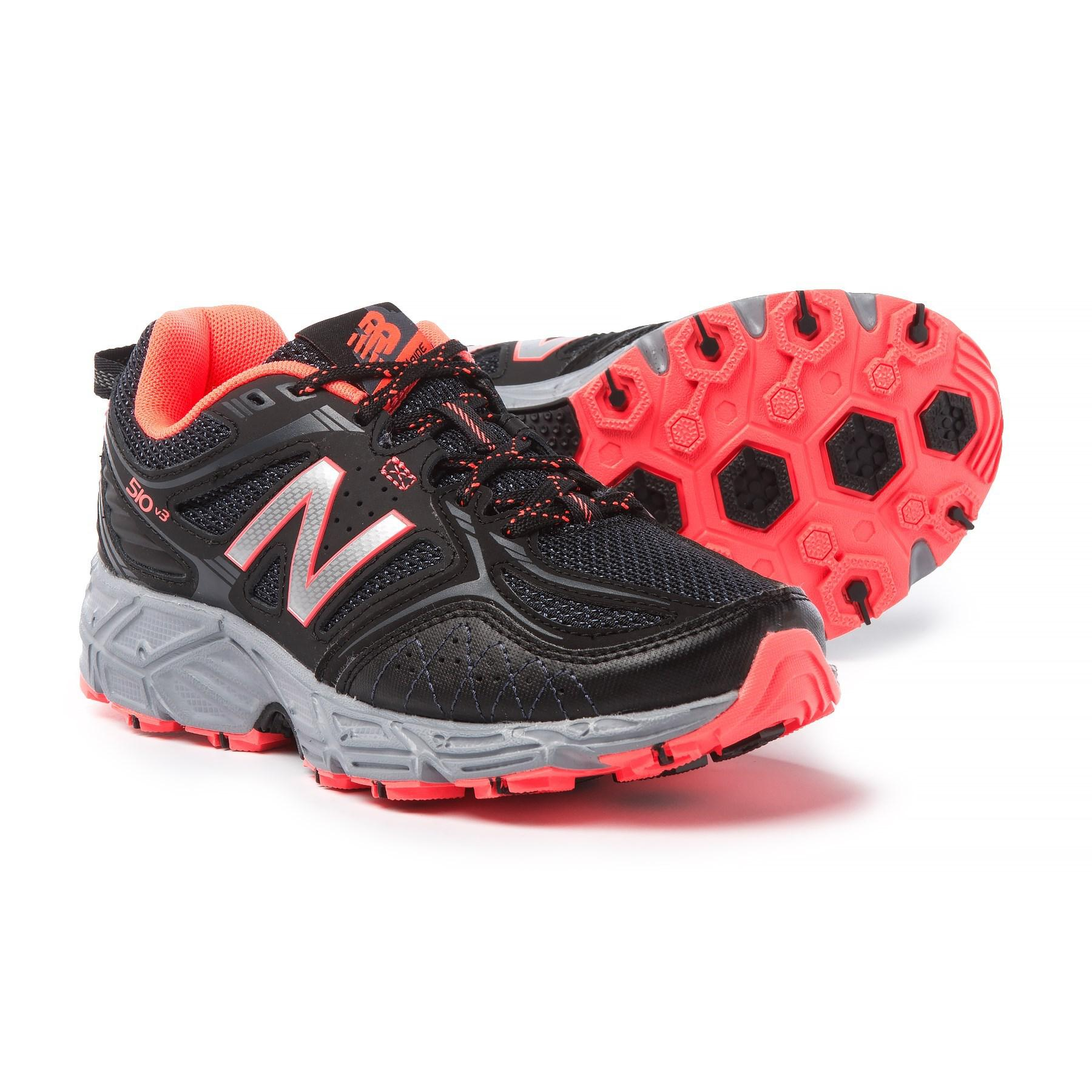 e4a0632819dd Lyst - New Balance 510v3 Trail Running Shoes (for Women) in Red