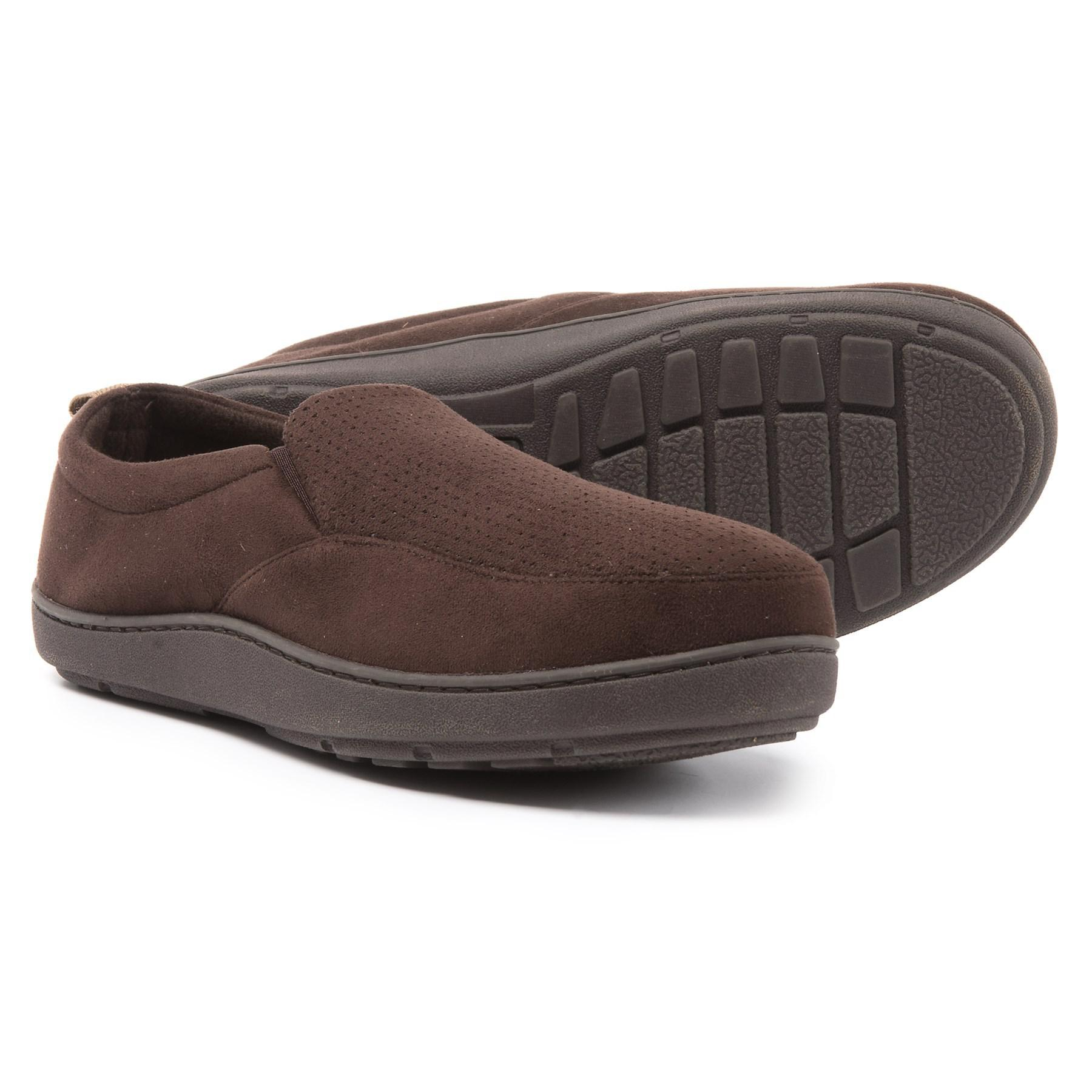 1156d76562f1 Lyst - Dearfoams Rugged Closed-back Slippers (for Men) in Brown for Men