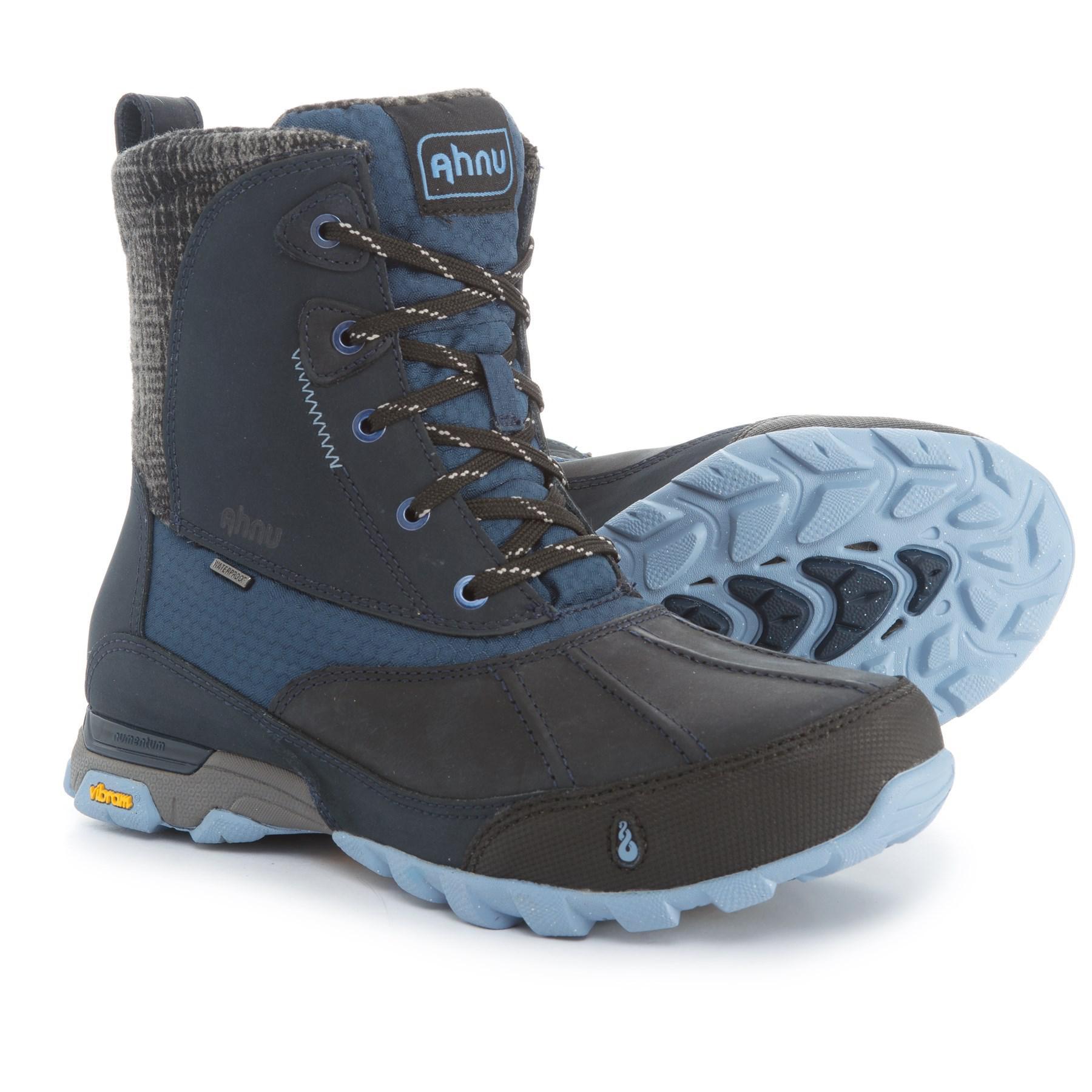 c3e0376d674 Lyst - Ahnu Sugar Peak Snow Boots in Blue