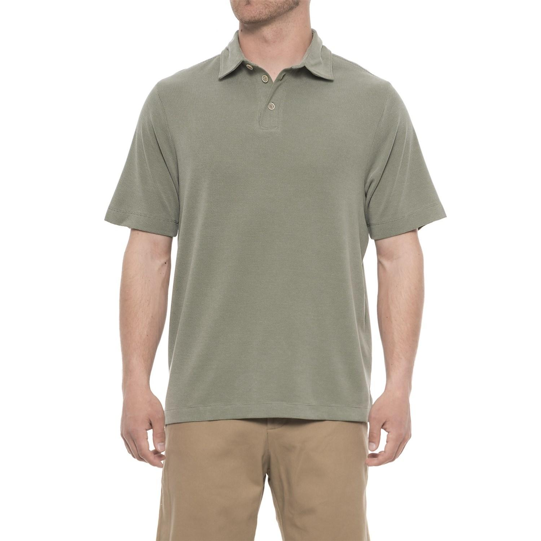 f7f6685afa1 Rainforest Modal Polo Shirt in Green for Men - Lyst