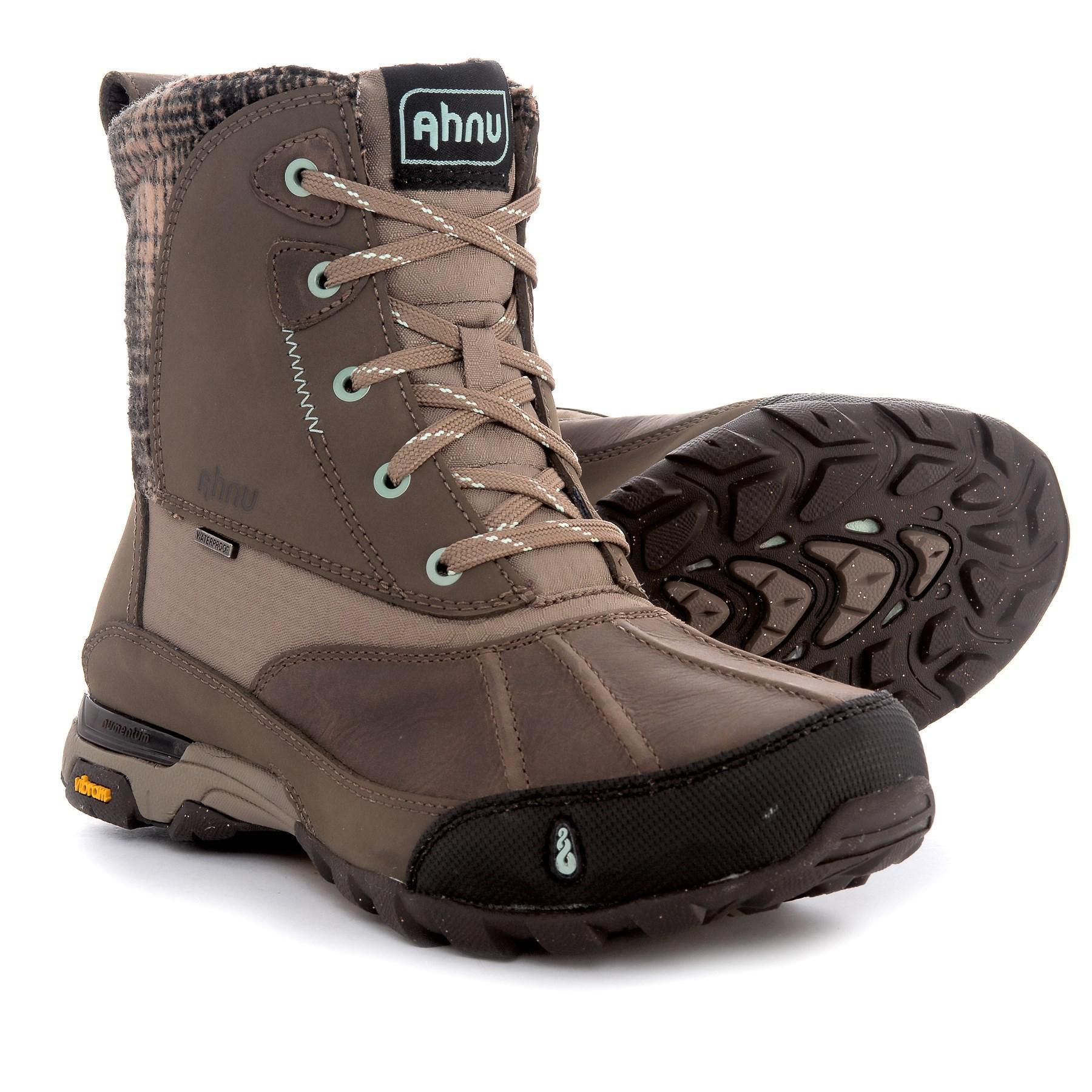 7d63a571cc9 Lyst - Ahnu Sugar Peak Snow Boots in Brown