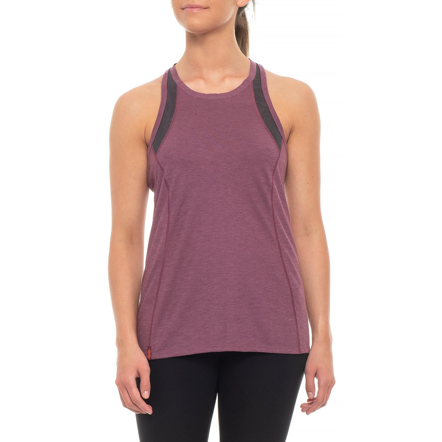 72b964af726a5 Lyst - The North Face Beyond The Wall Tank Top (for Women) in Purple