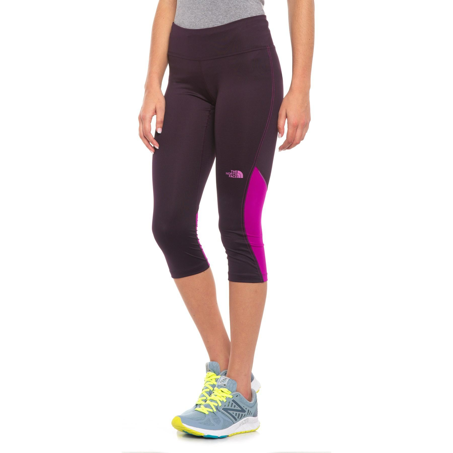 98f1c713ae874 The North Face Ambition Mid-rise Capris (for Women) in Purple - Lyst