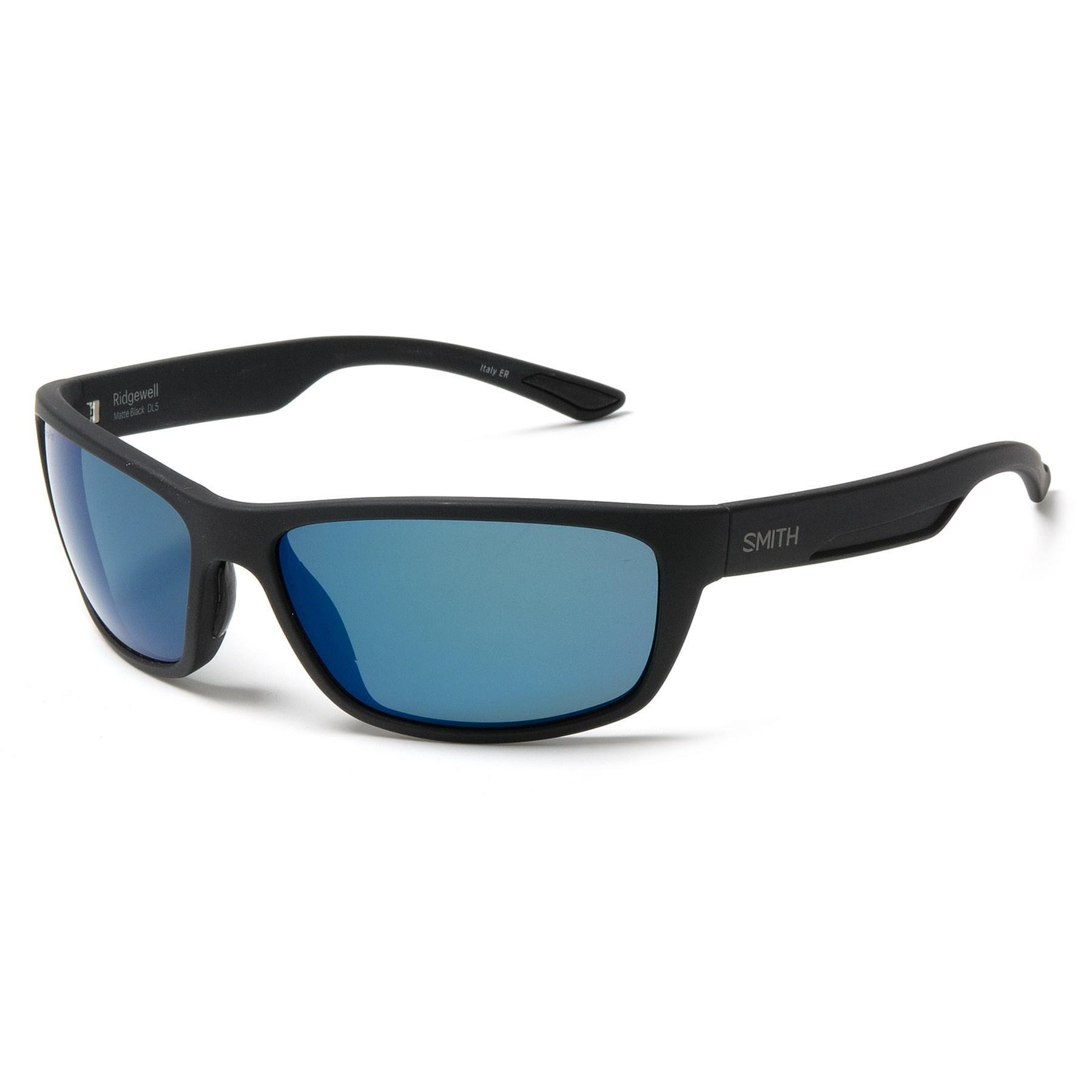 50a41e710932b Lyst - Smith Optics Ridgewell Sunglasses in Blue for Men