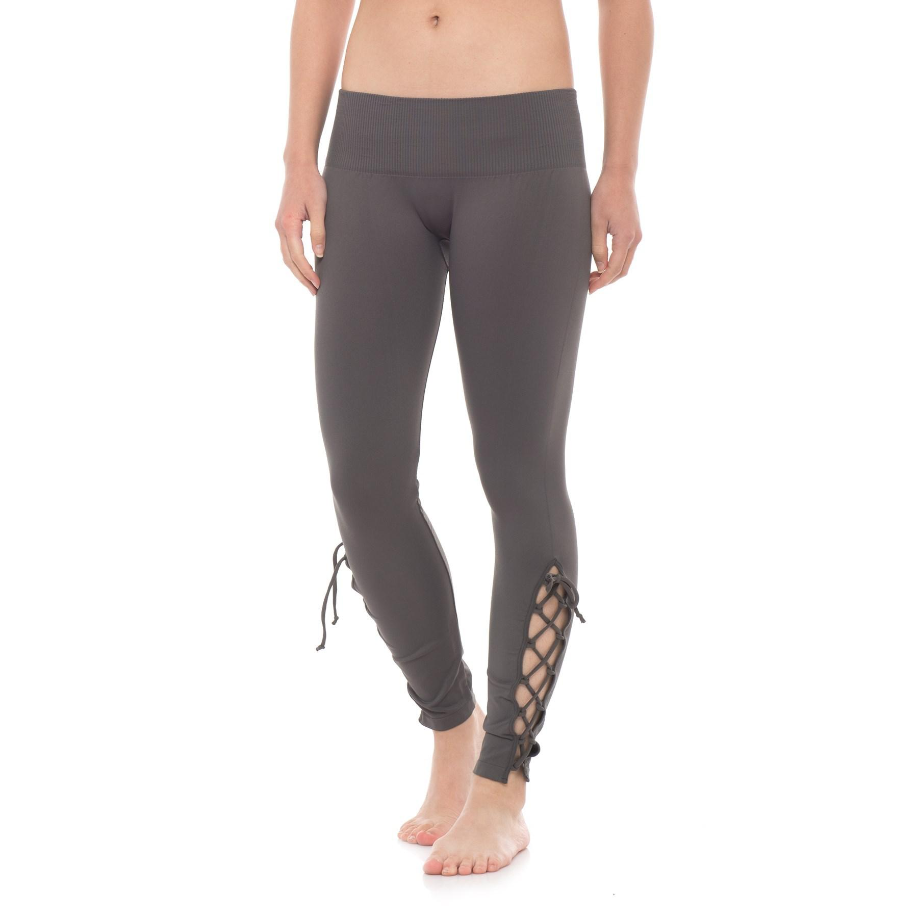 ce46f9f6343d7c Lyst - Free People Seamless Contour Leggings (for Women) in Gray