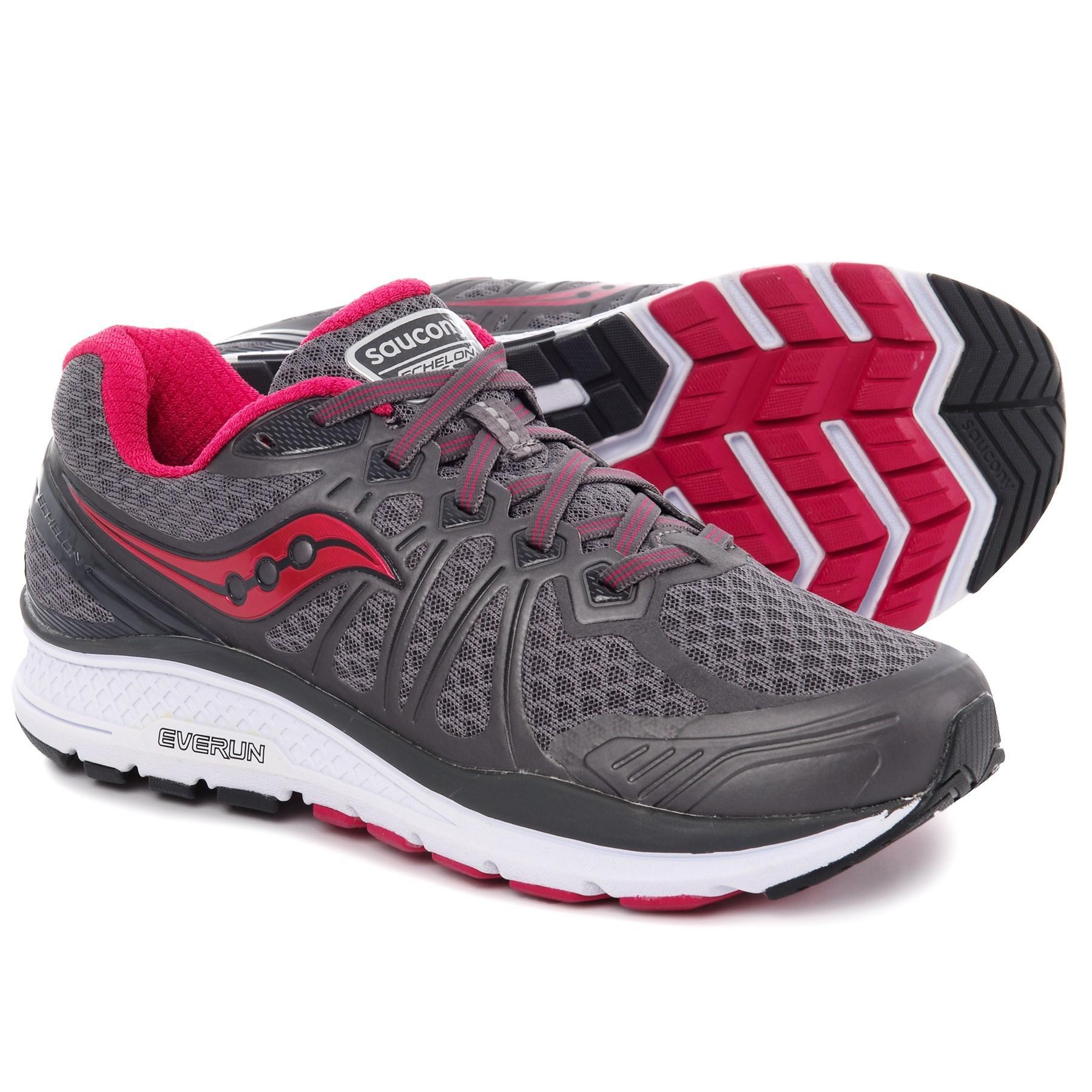b56f568cbd4d Lyst - Saucony Echelon 6 (grey pink) Women s Running Shoes in Gray ...
