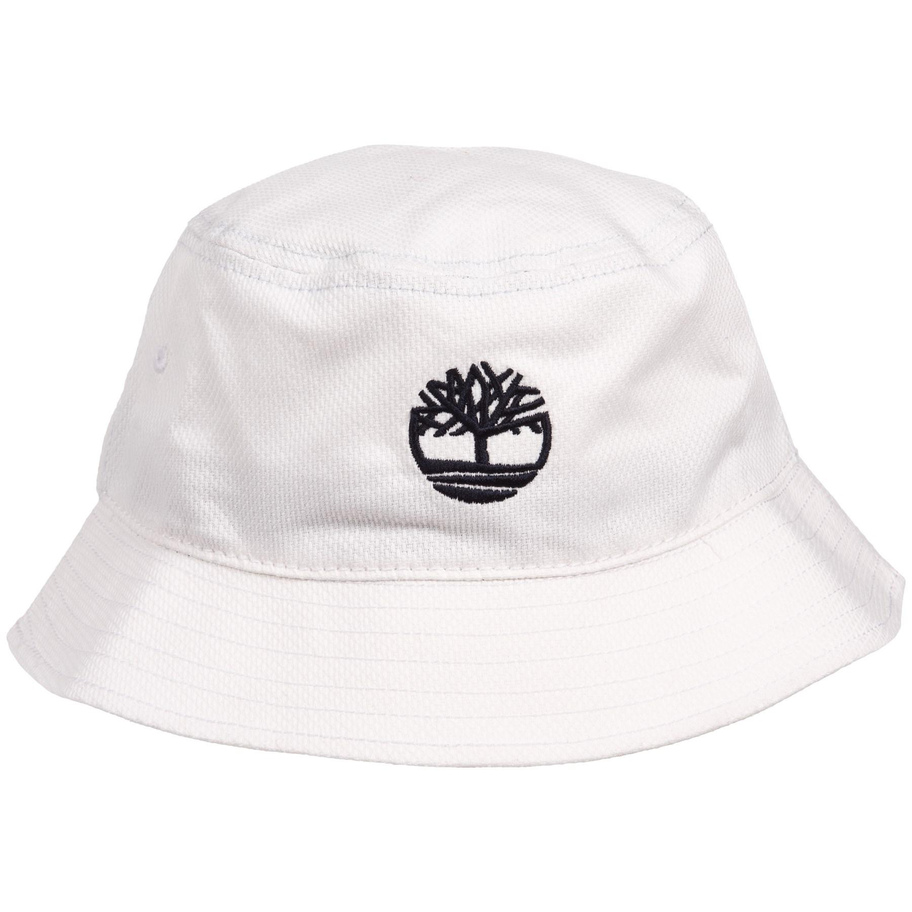 64304991e80 Lyst - Timberland Bucket Hat With Tree Logo (for Men) in White for Men