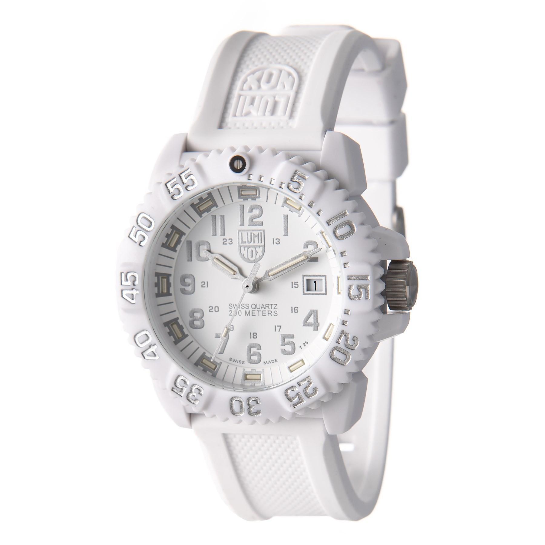 0340e35ec669f Luminox. Men s Metallic Steel Colormark Tritium Illumination Watch