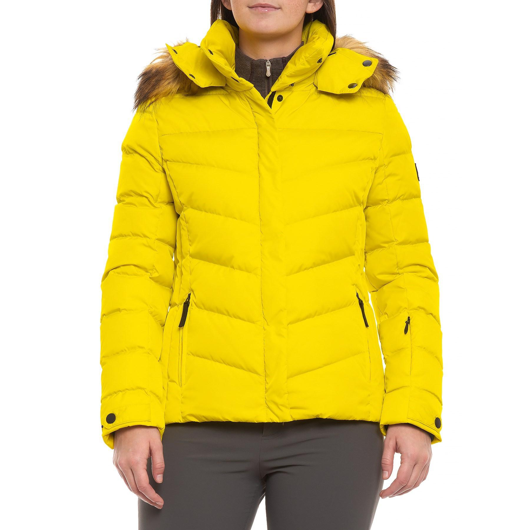 9a5eb223ba Lyst - Bogner Fire + Ice Sally Down Ski Jacket (for Women) in Yellow