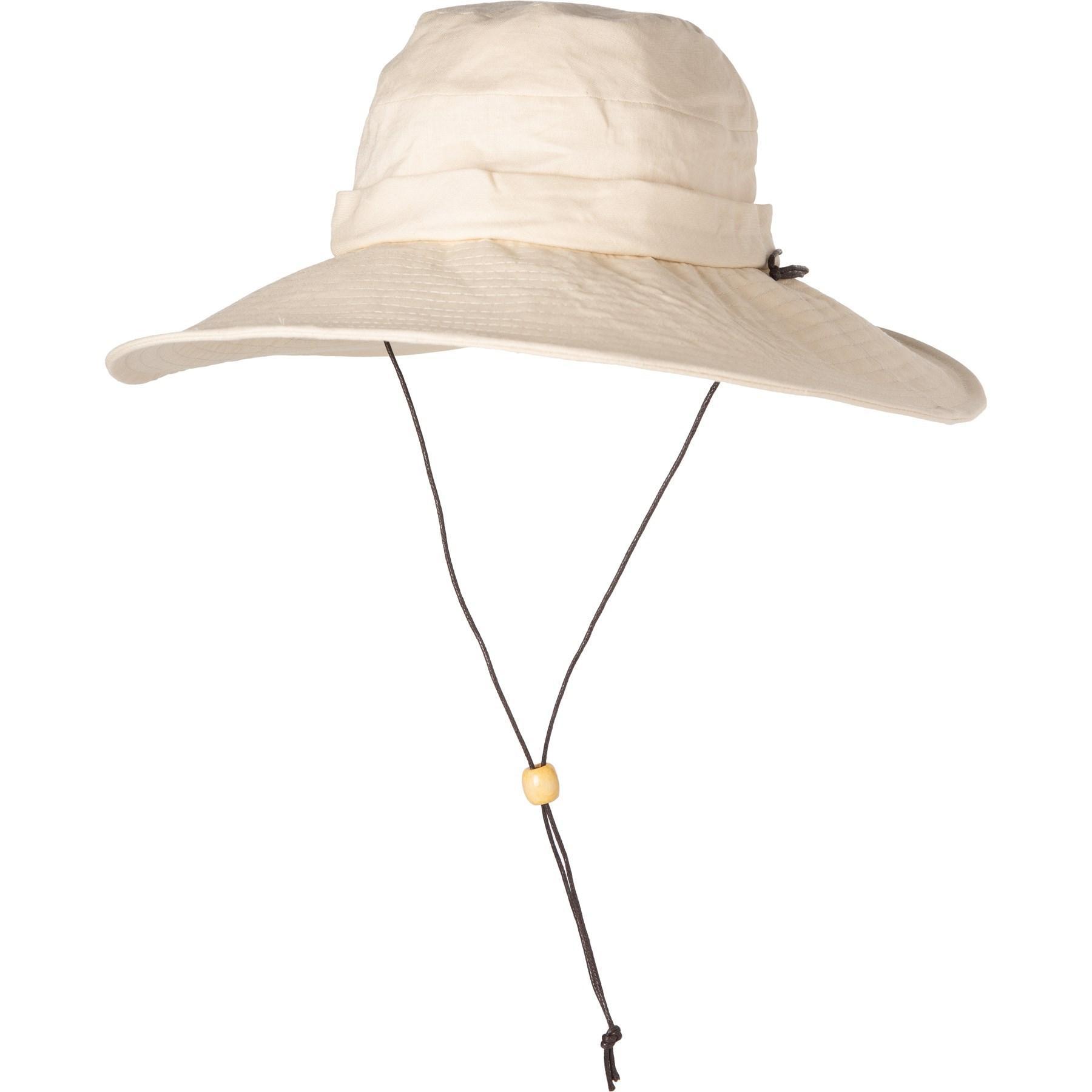 fe8ea2889 Lyst - Dorfman Pacific Acad Boonie Hat in Natural
