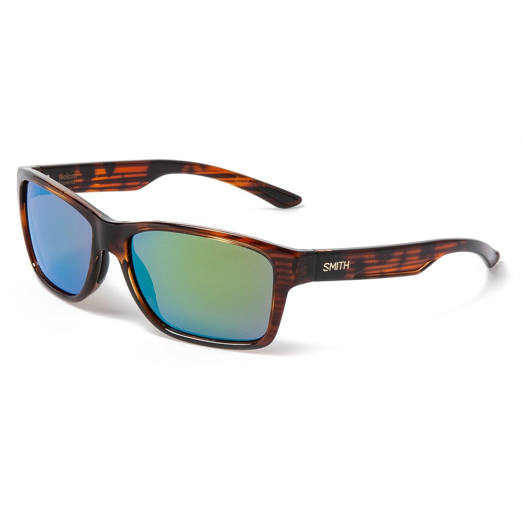 2075b2ac986 Lyst - Smith Optics Wolcott Sunglasses in Green for Men