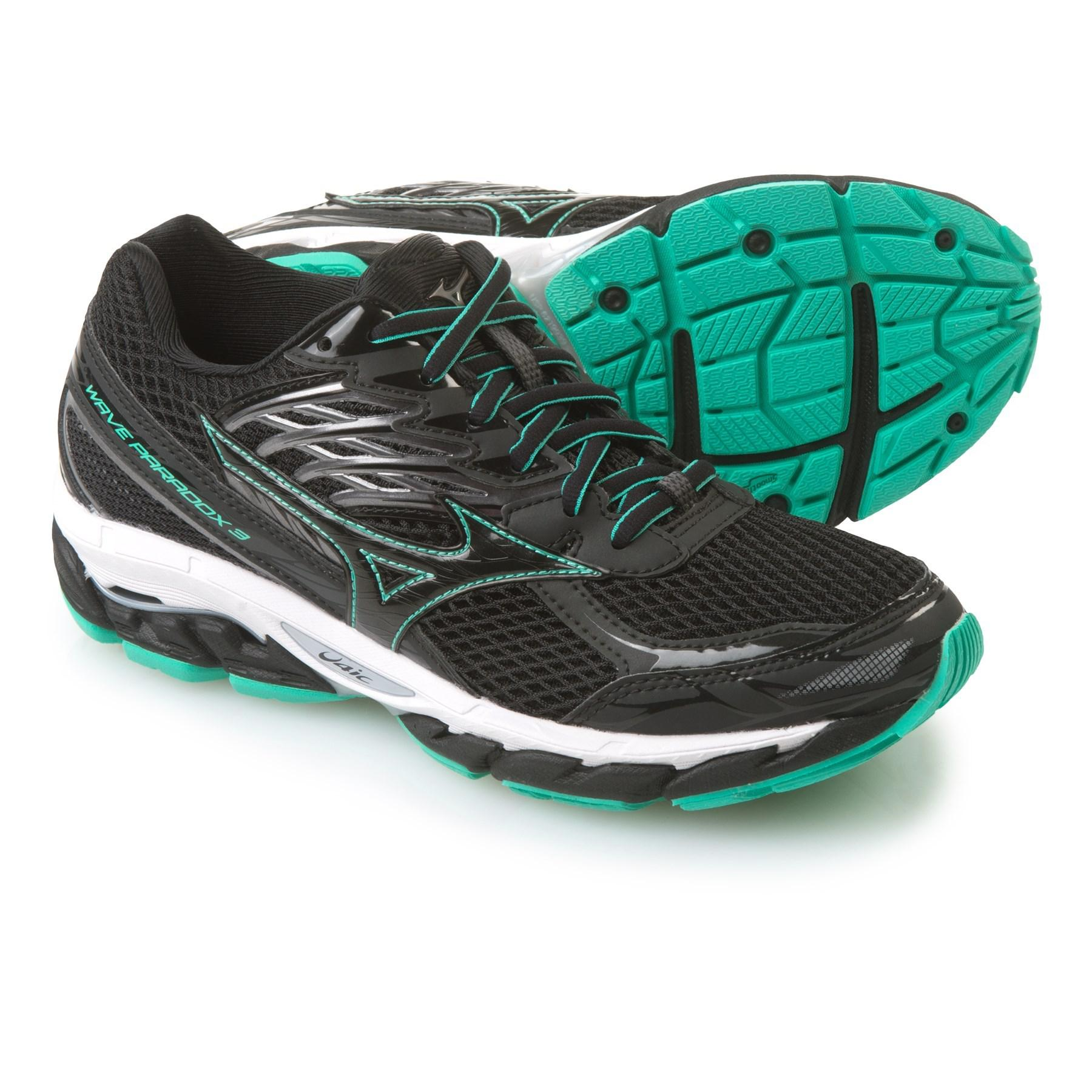 mizuno wave paradox 3 womens running shoes