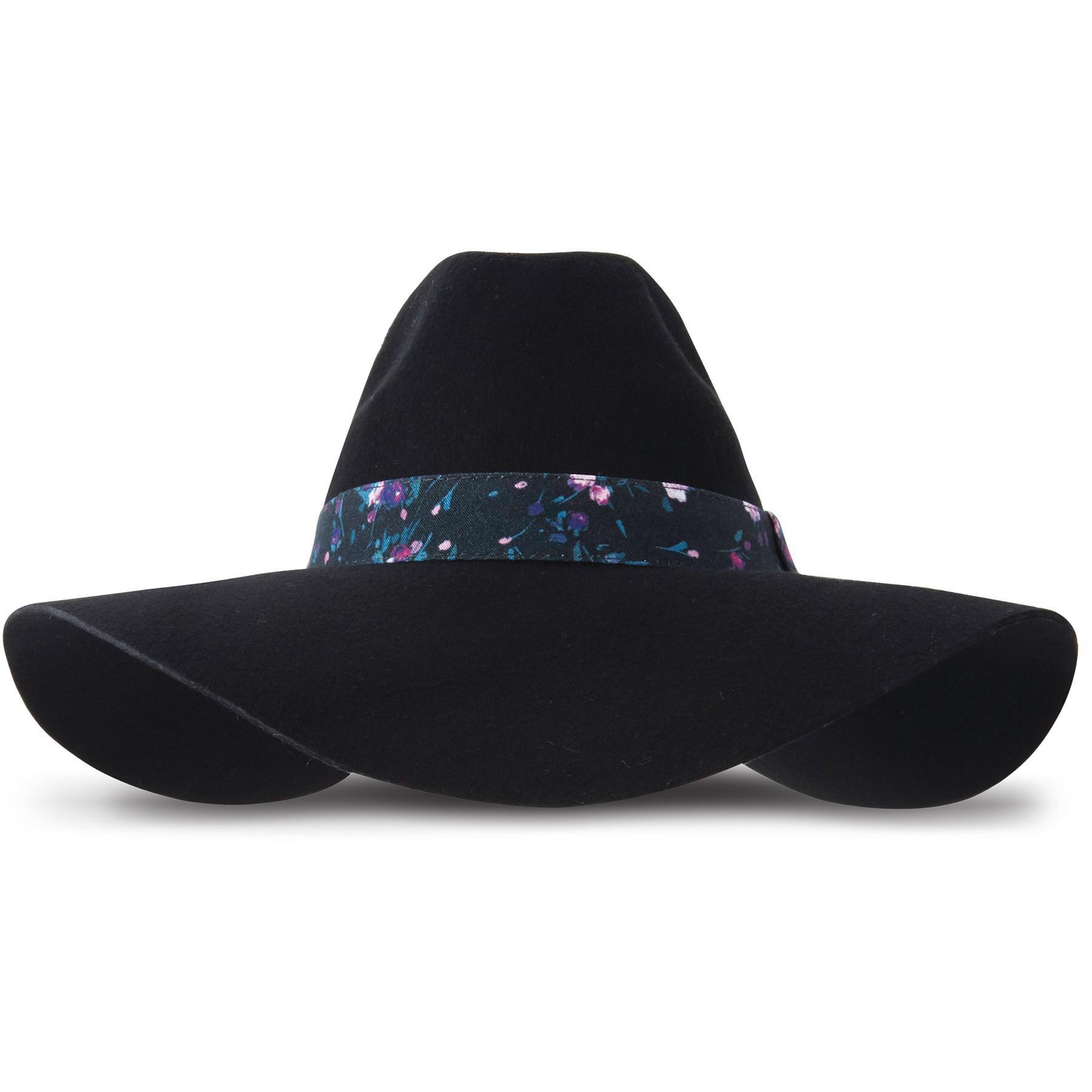 Lyst - Keds Felt Floppy Hat in Black c7245fd65f6c
