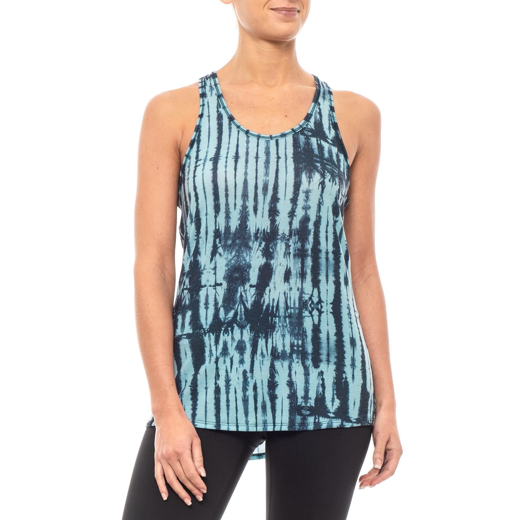 b2bc39a30 Lyst - The North Face Workout Racerback Tank Top (for Women) in Blue
