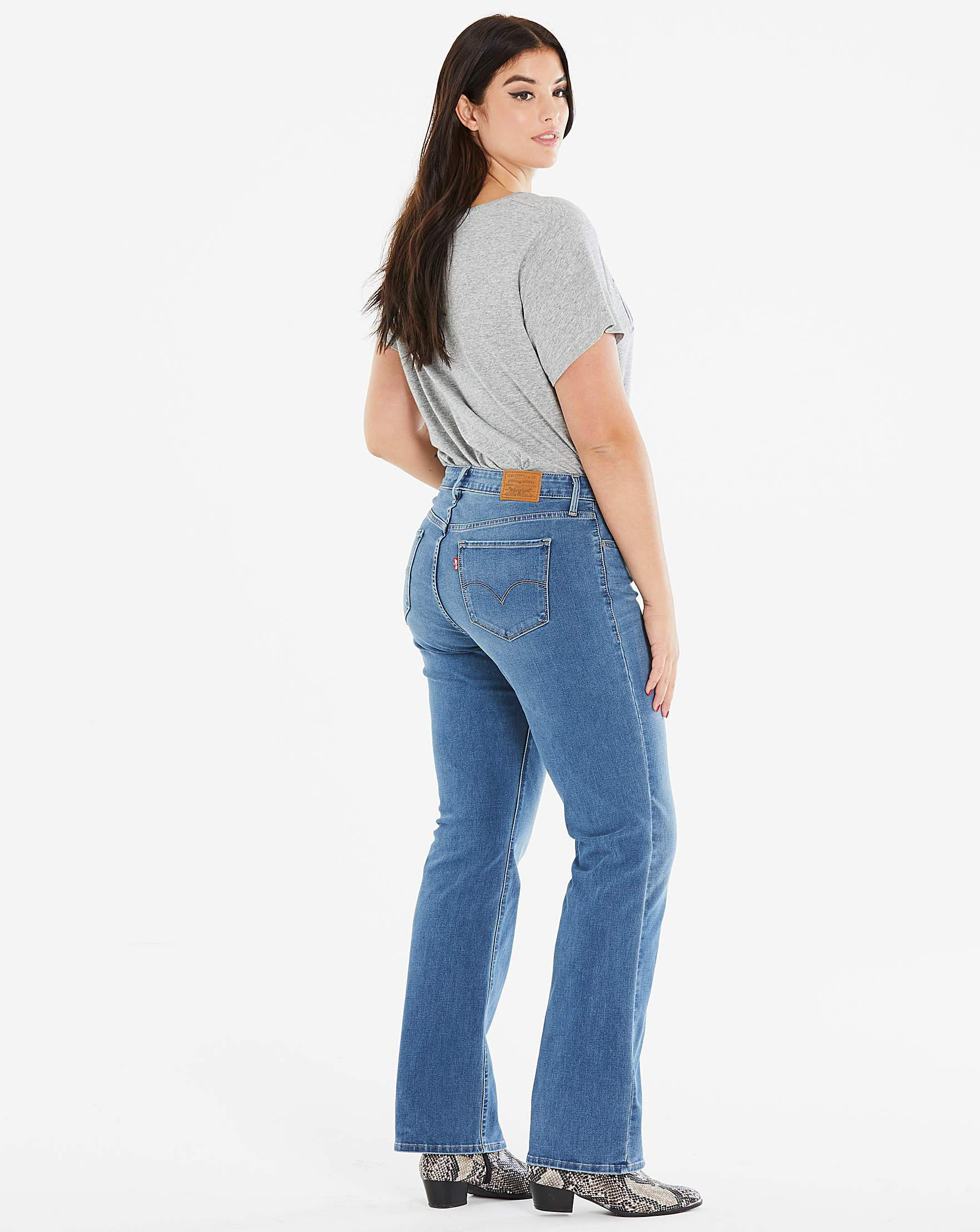 e10465c0 Levi's 315 Shaping Bootcut Jeans in Blue - Lyst