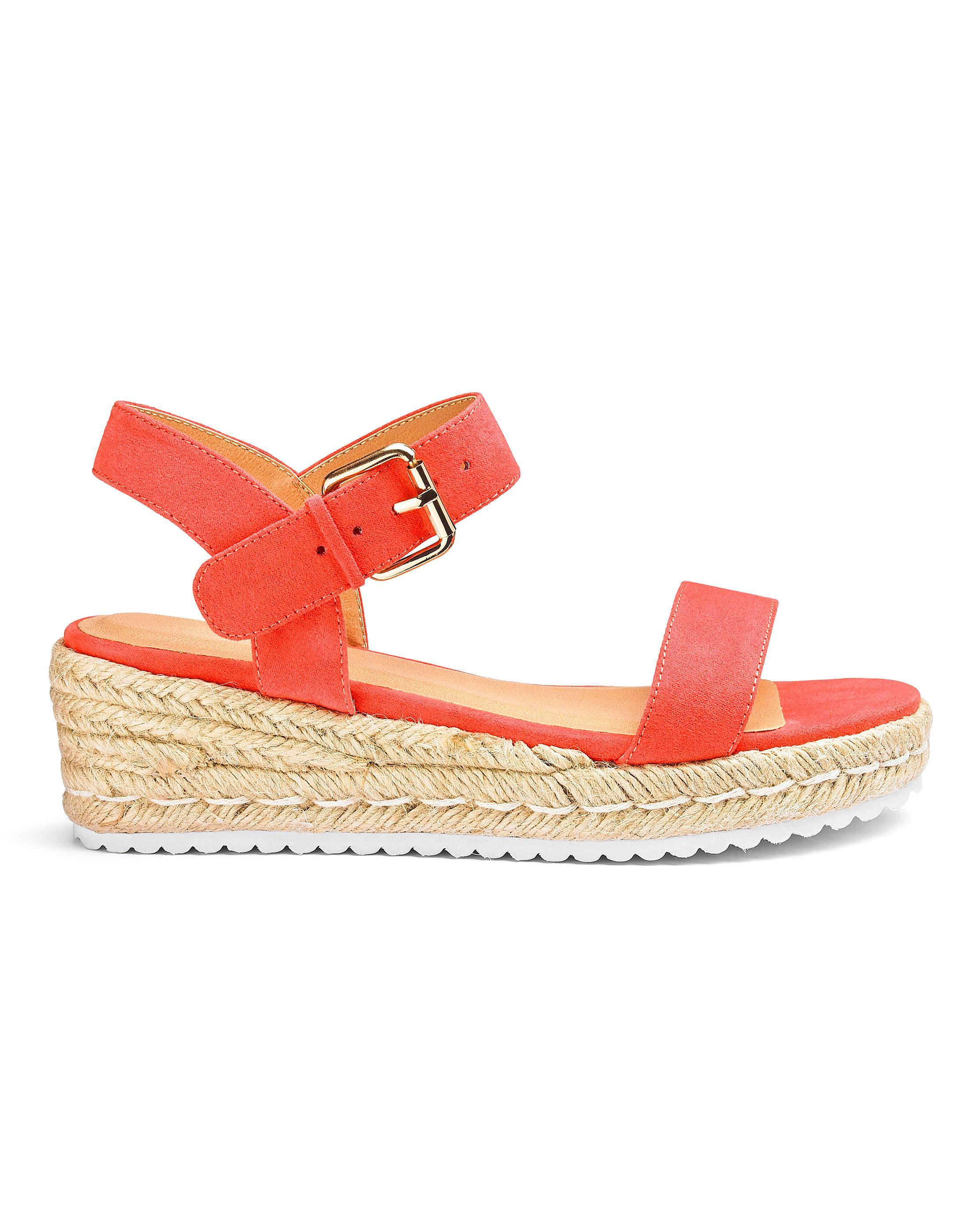 a6776e9a25a1 Simply Be. Women s Indra Espadrille Wedge