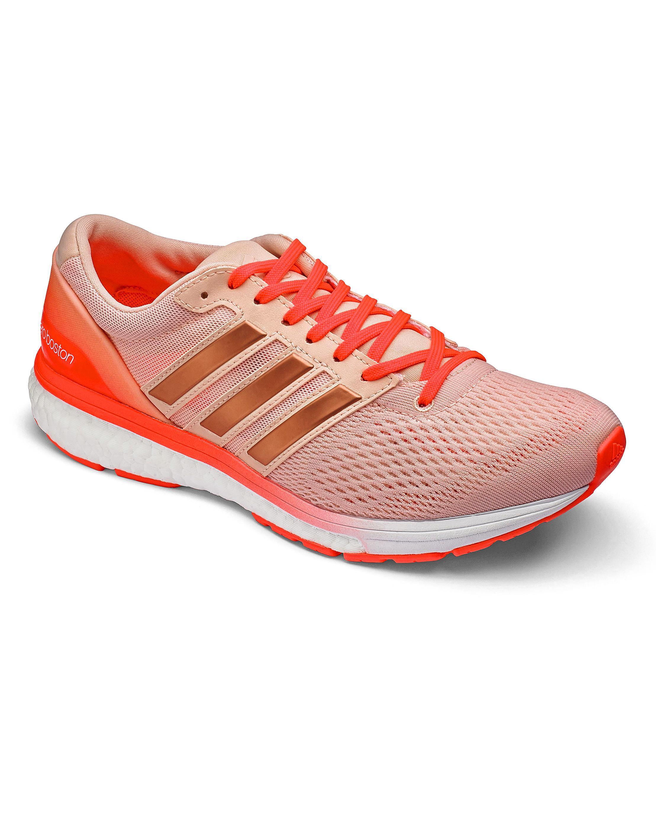Lyst - Simply Be Adidas Adizero Boston 6 Women s Sneakers in Pink 8b2ac9880