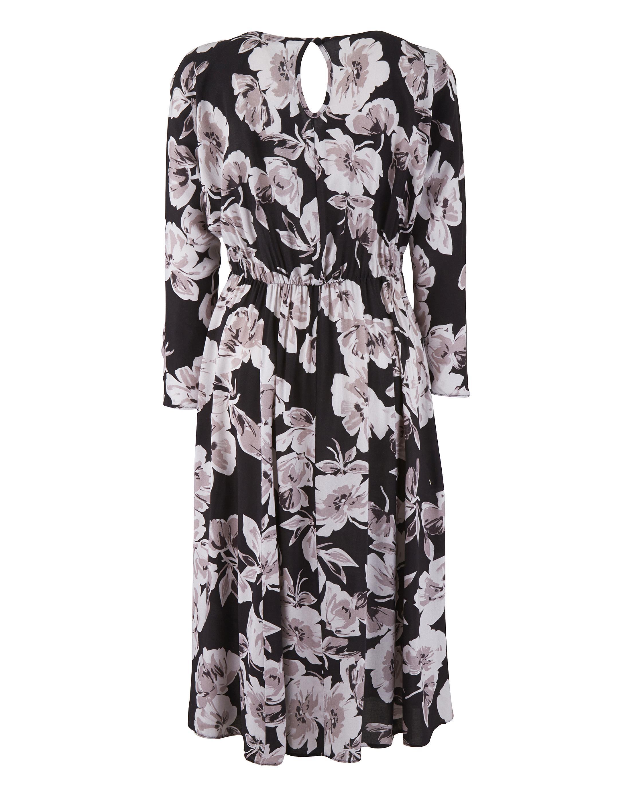 7a17c83a51cf7 Lyst - Simply Be Scarlett   Jo Floral Dress