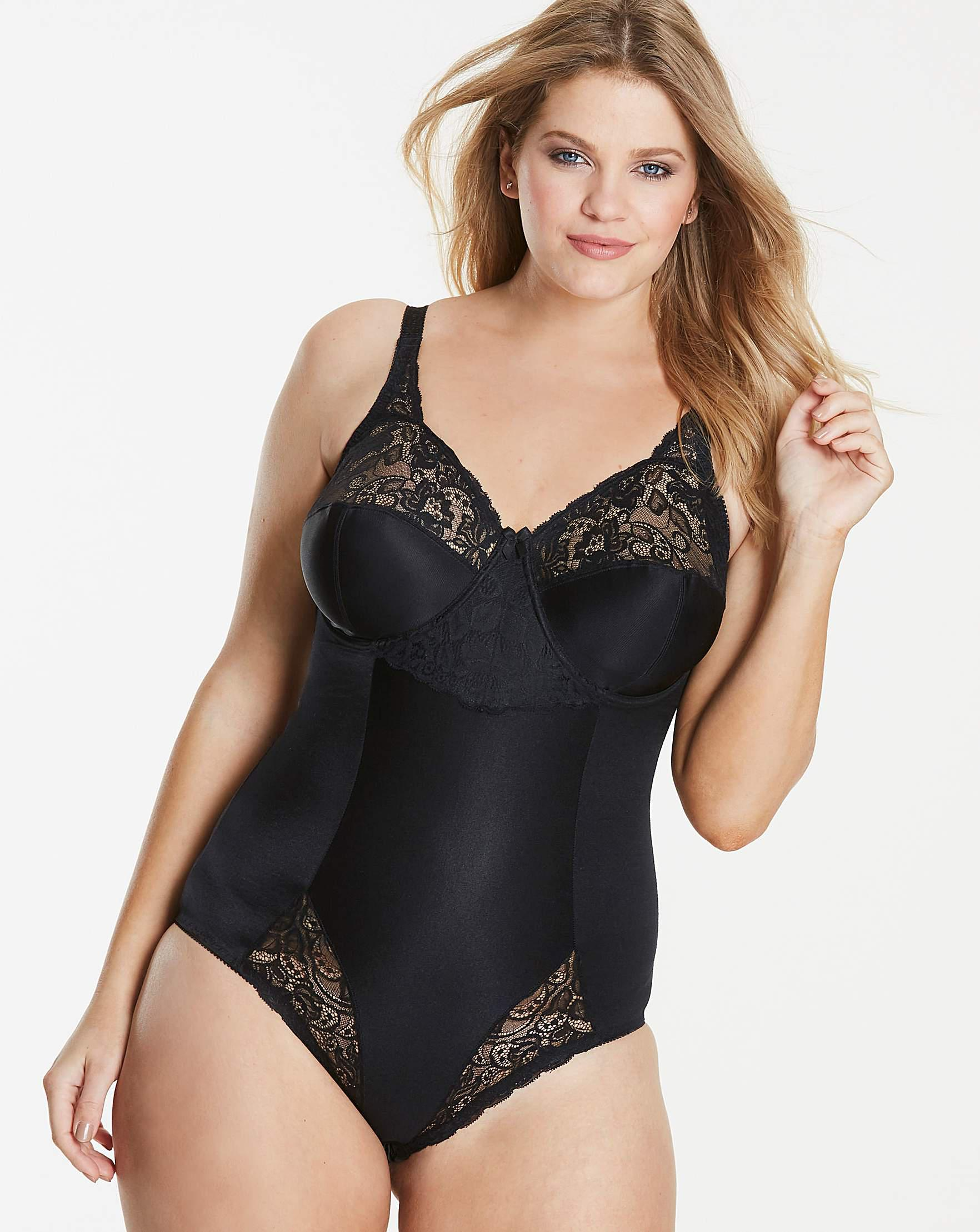 Charnos Superfit Full Cup Bodyshaper in Black - Lyst e9ab29a1a