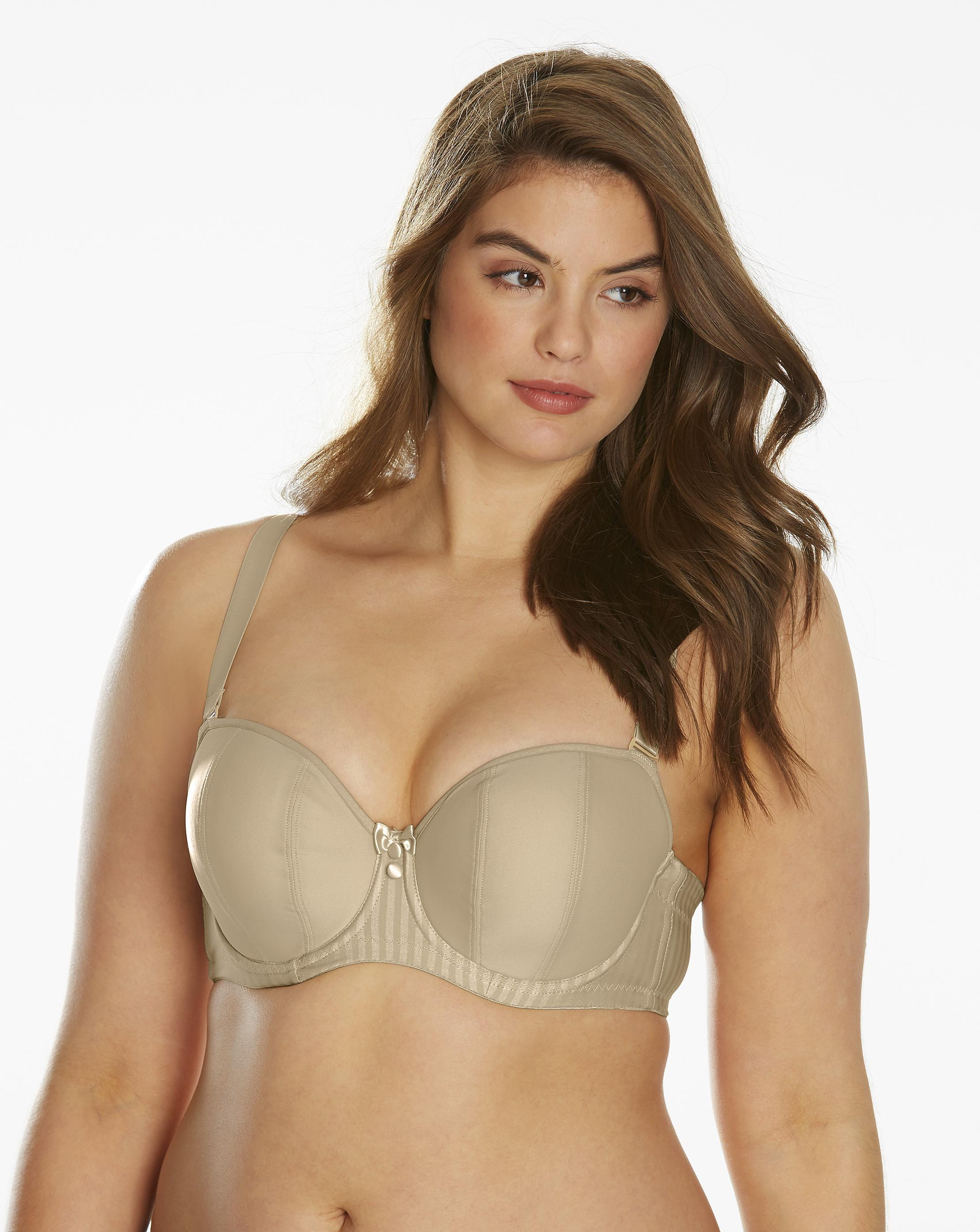 2a9a7b4591631 Lyst - Simply Be Curvy Kate Luxe Wired Multiway Bra in Natural
