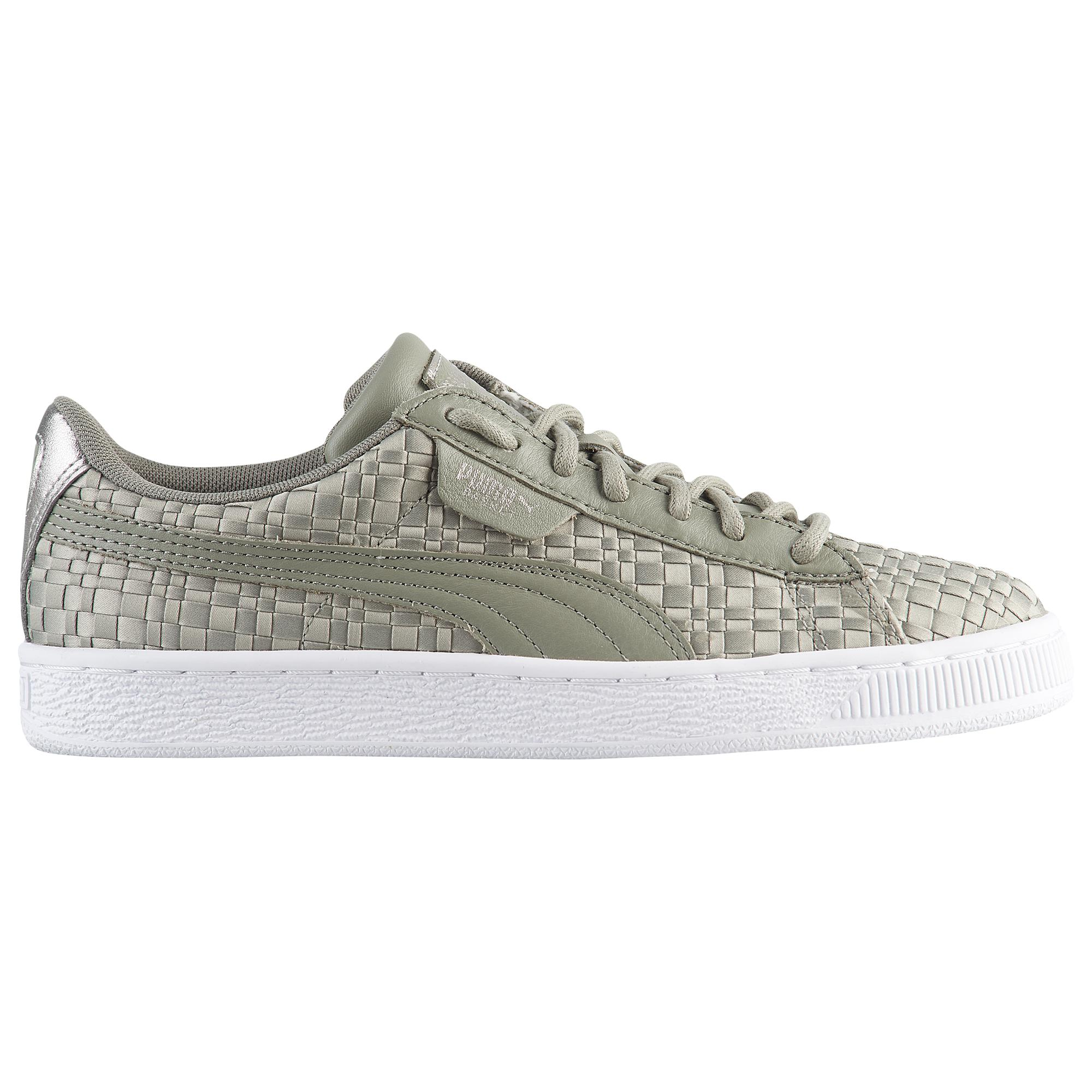 Lyst - Puma Basket Satin Woven in Gray for Men 2e7d39211
